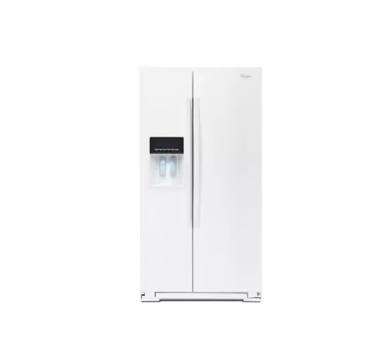 Whirlpool WRS571CIDW 36 White Refrigerator #19368