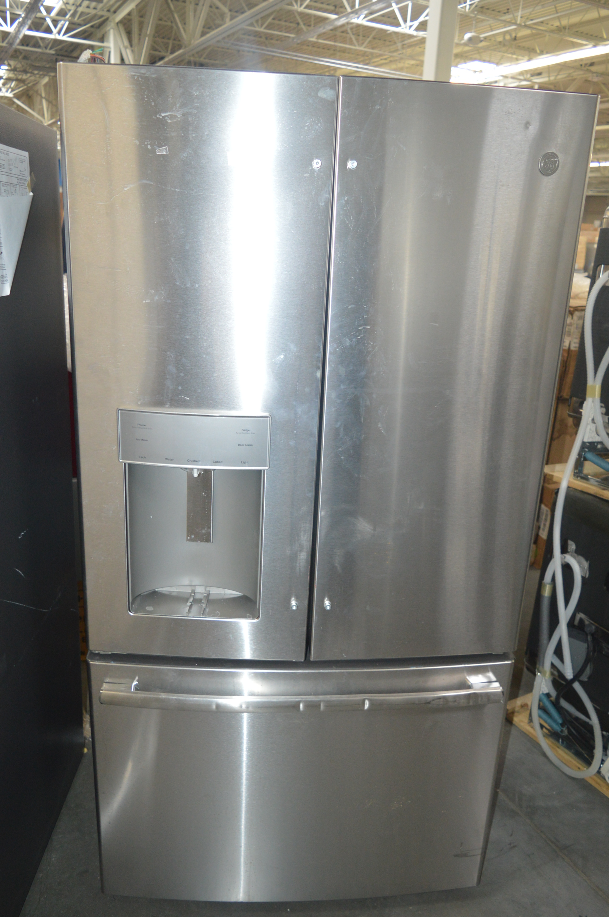 GE GFE28GSKSS French Door Refrigerator Stainless #27657