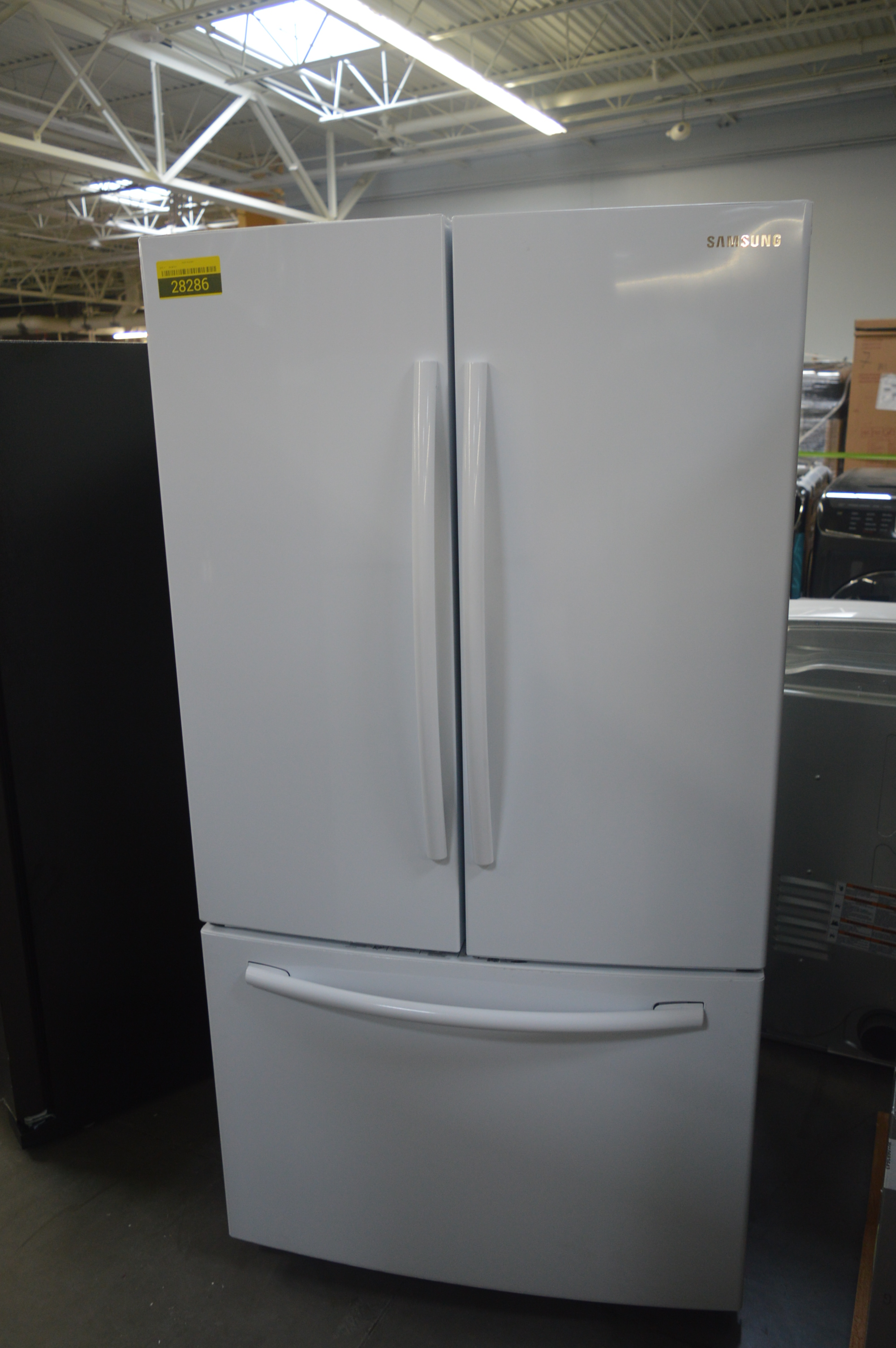 Samsung RF261BEAEWW French Door Refrigerator White