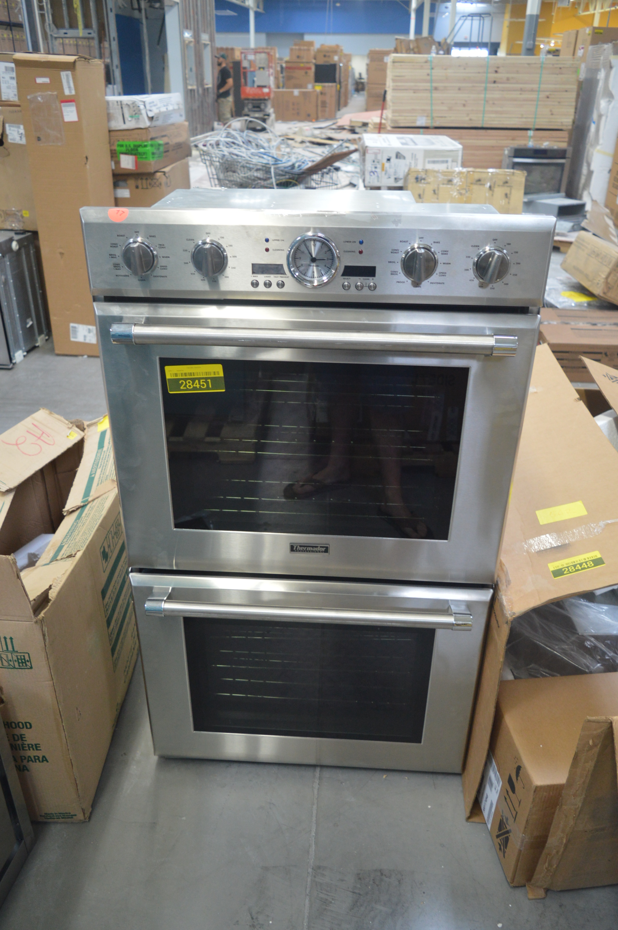 Thermador PODC302J Double Wall Oven Stainless #28063