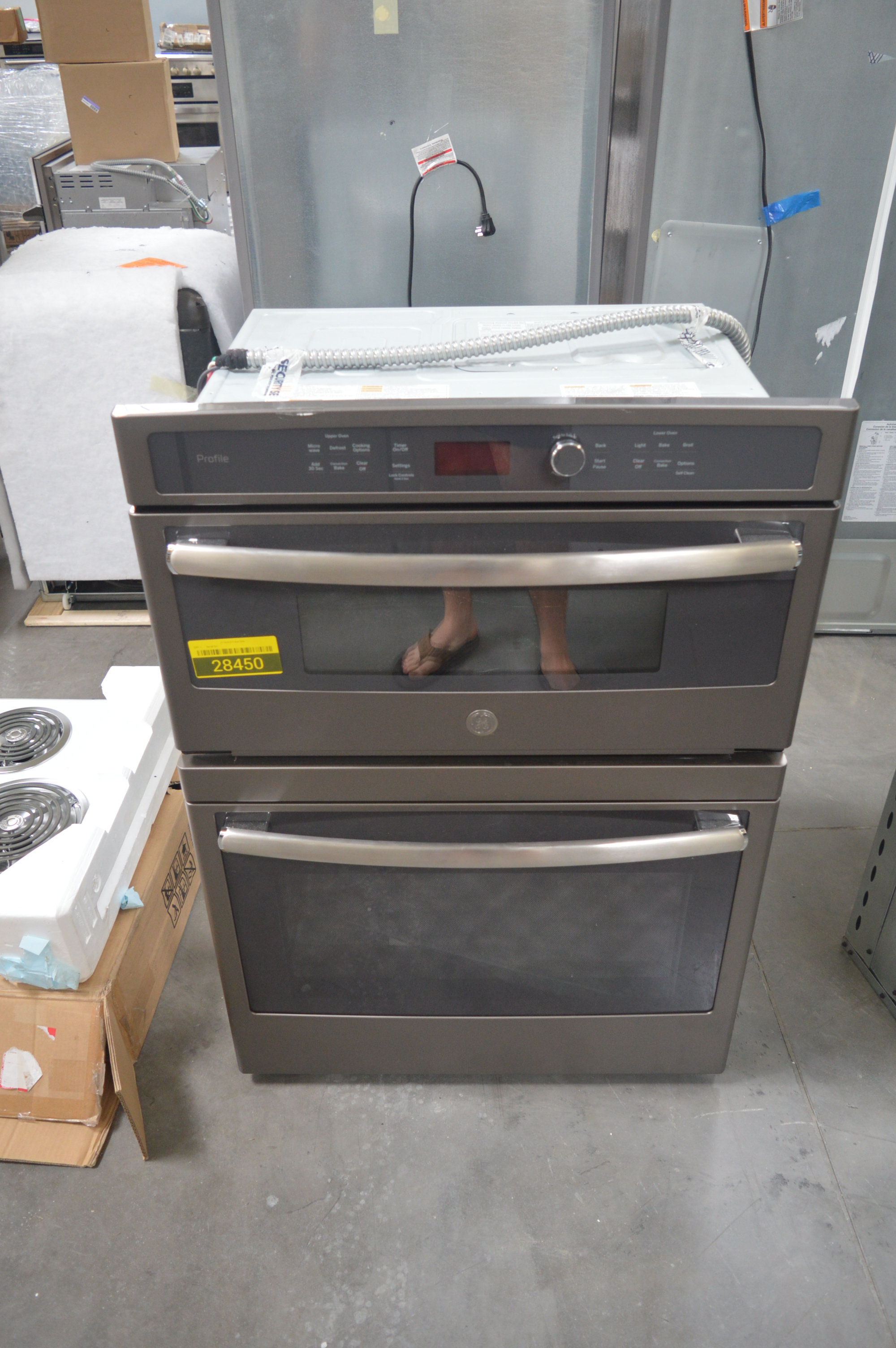 GE PT7800EKES Microwave-Oven Combo Wall Oven Stainless #28073