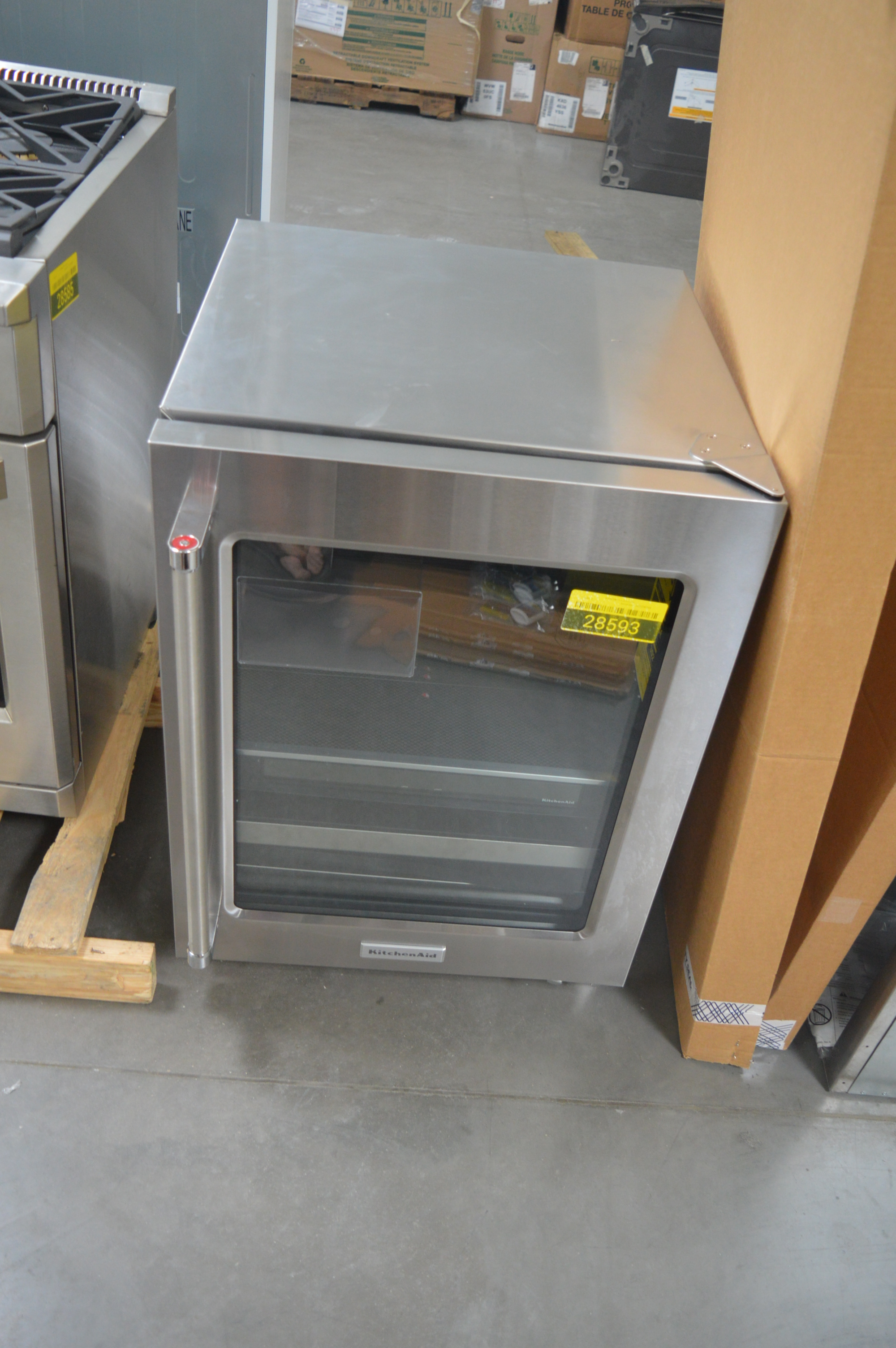 KitchenAid KUBR304ESS Compact Beverage Center Stainless
