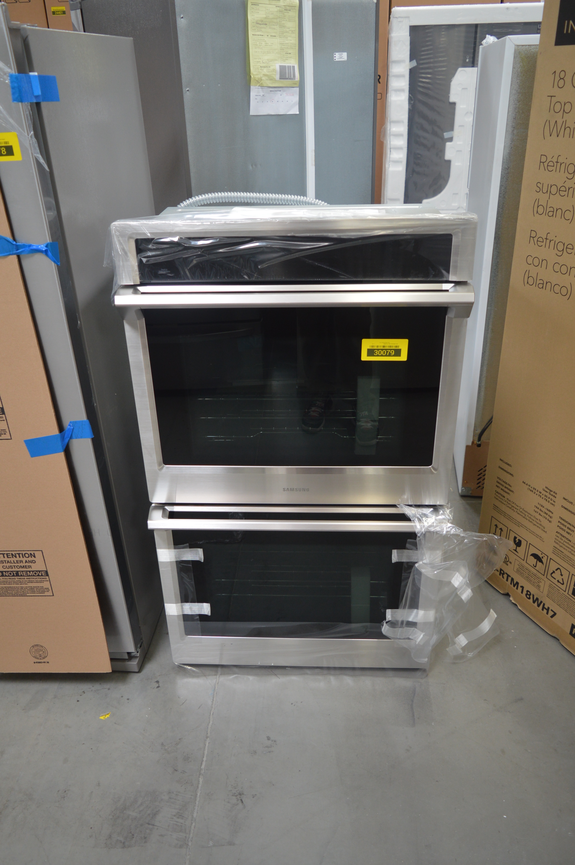 Samsung NV51K6650DS Double Wall Oven Stainless #28791