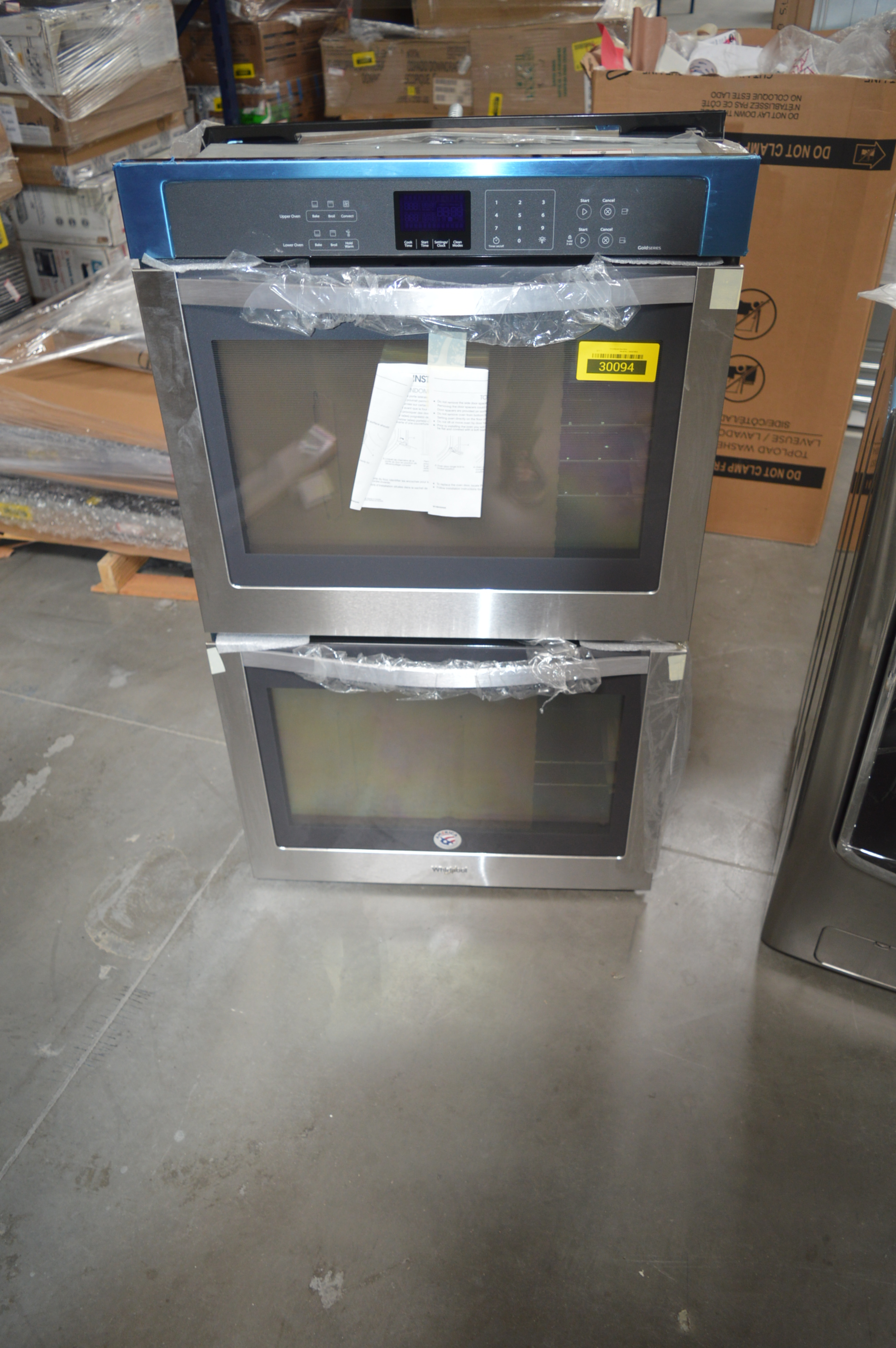 Whirlpool WOD93EC0AS Double Wall Oven Stainless #28807