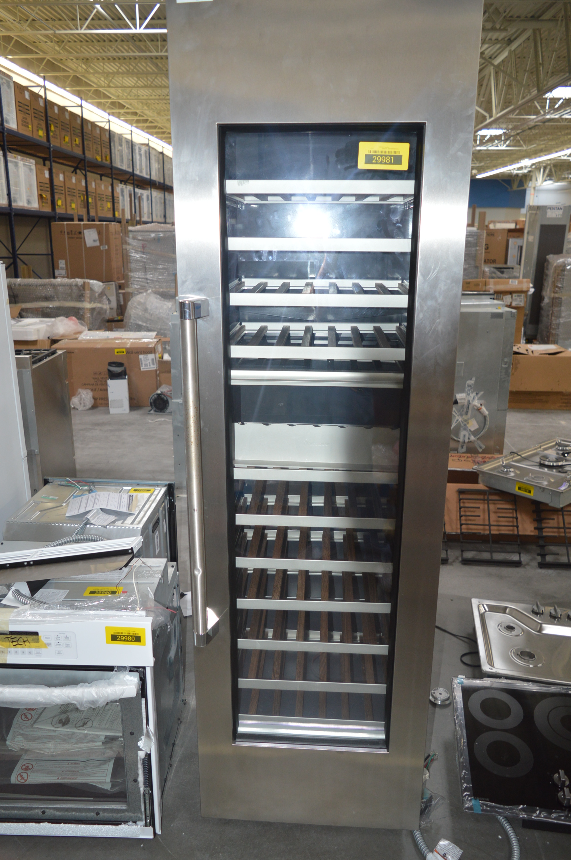 Thermador T24IW800SP Built-In Wine Cooler Stainless Steel T2
