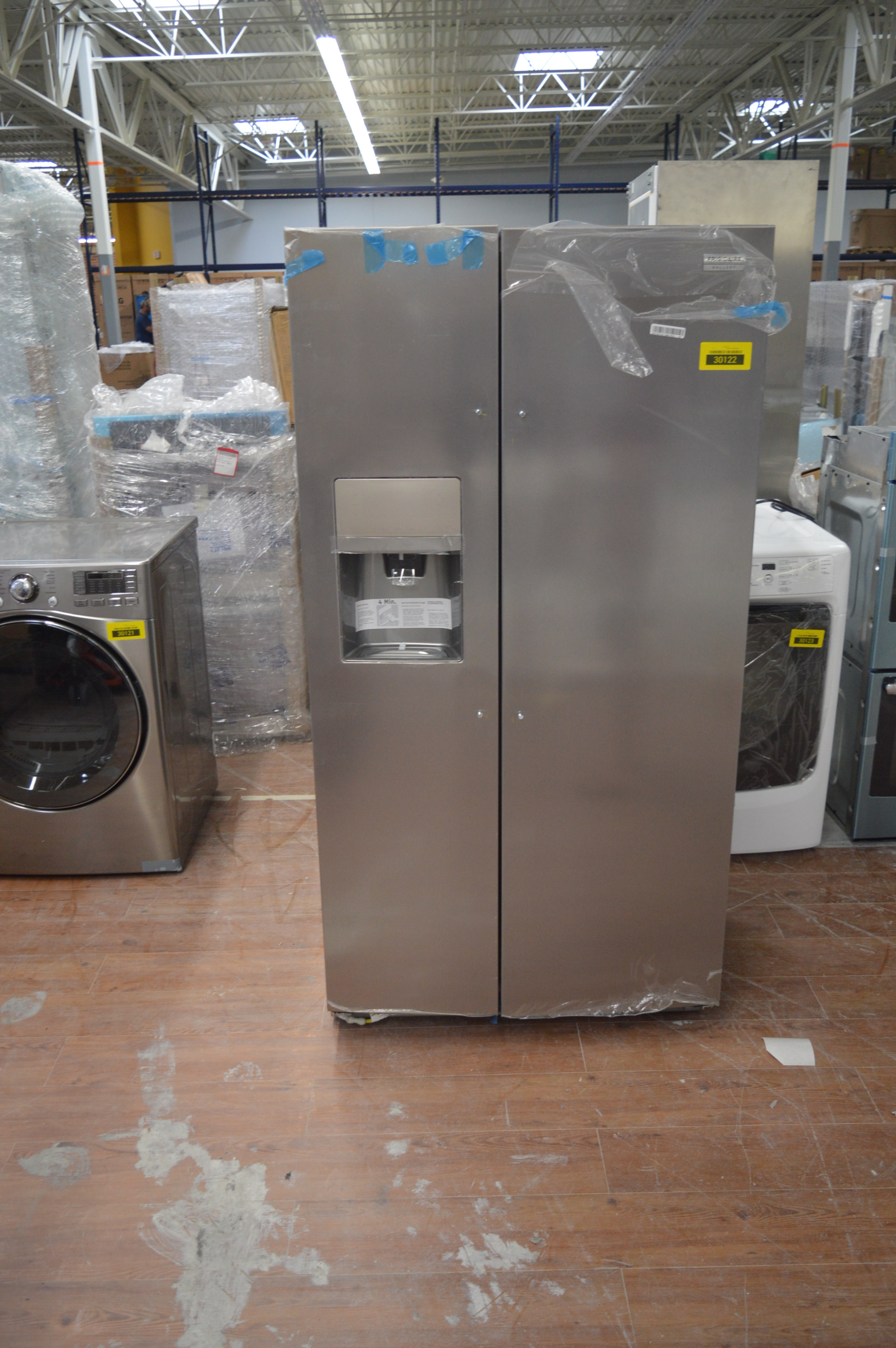 Frigidaire FGSC2335TF Side By Side Refrigerator Stainless