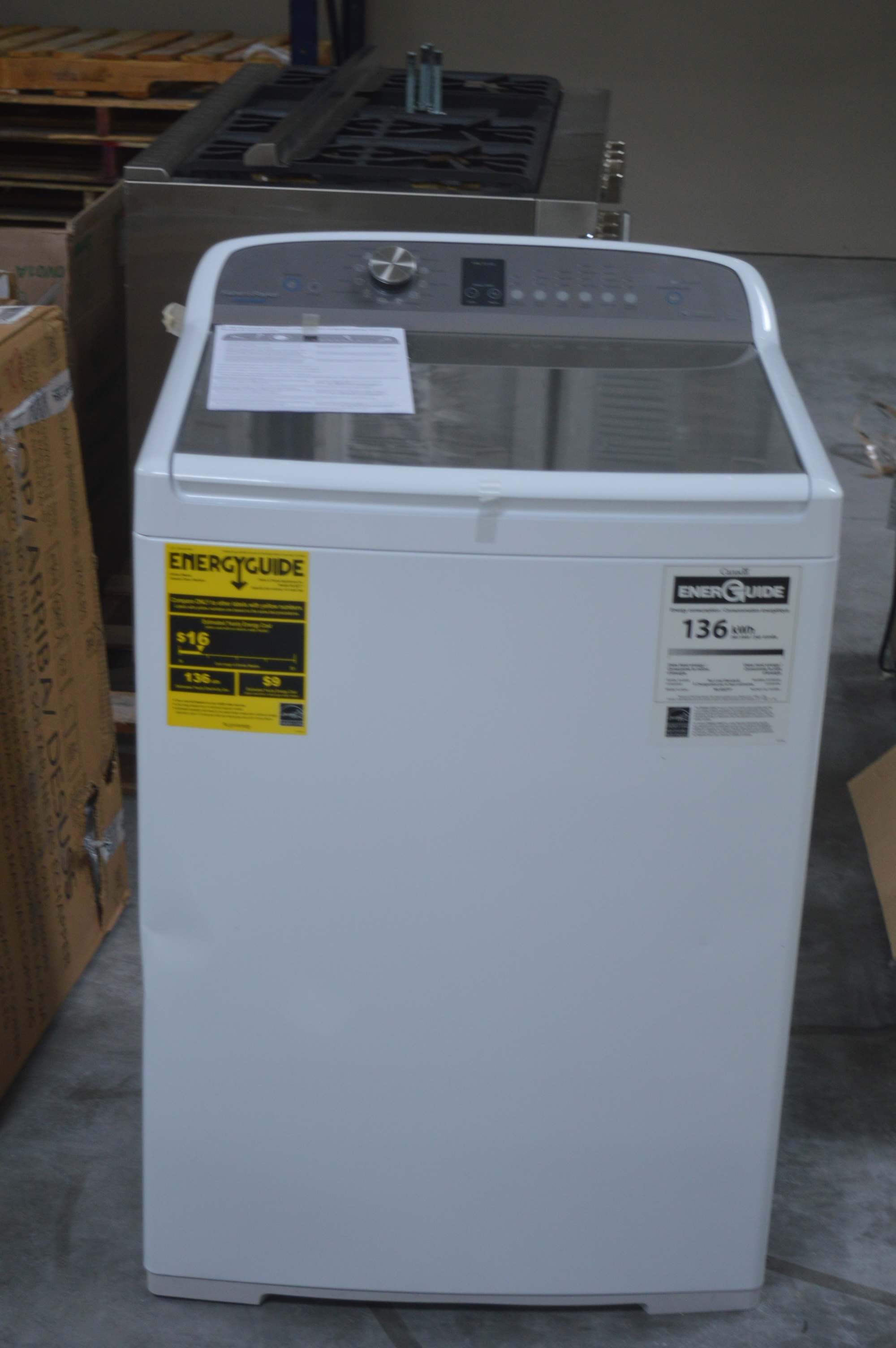 Fisher Paykel WL4027P1 Top-Load Washer White