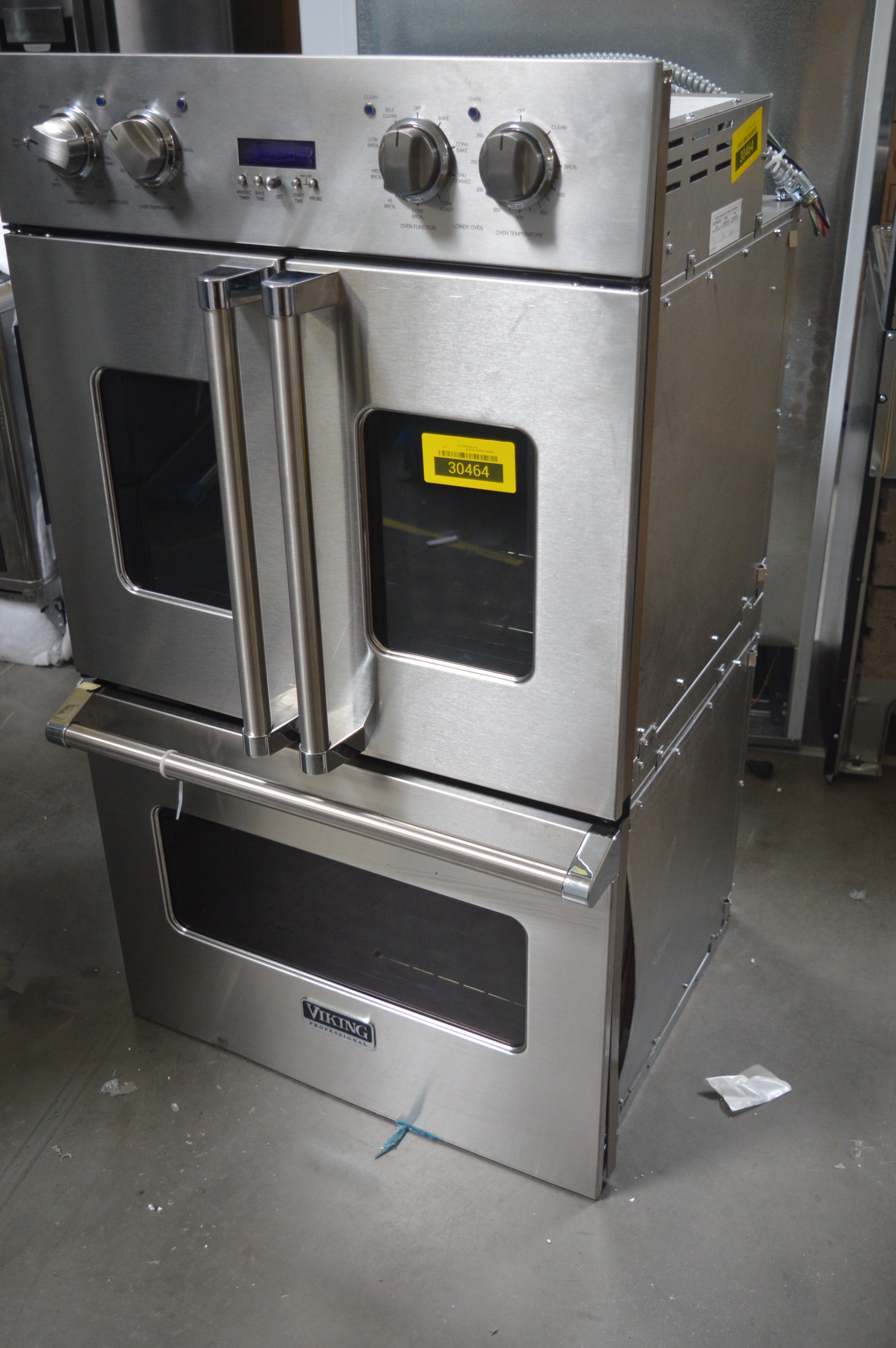 Viking VDOF730SS Double Wall Oven Stainless