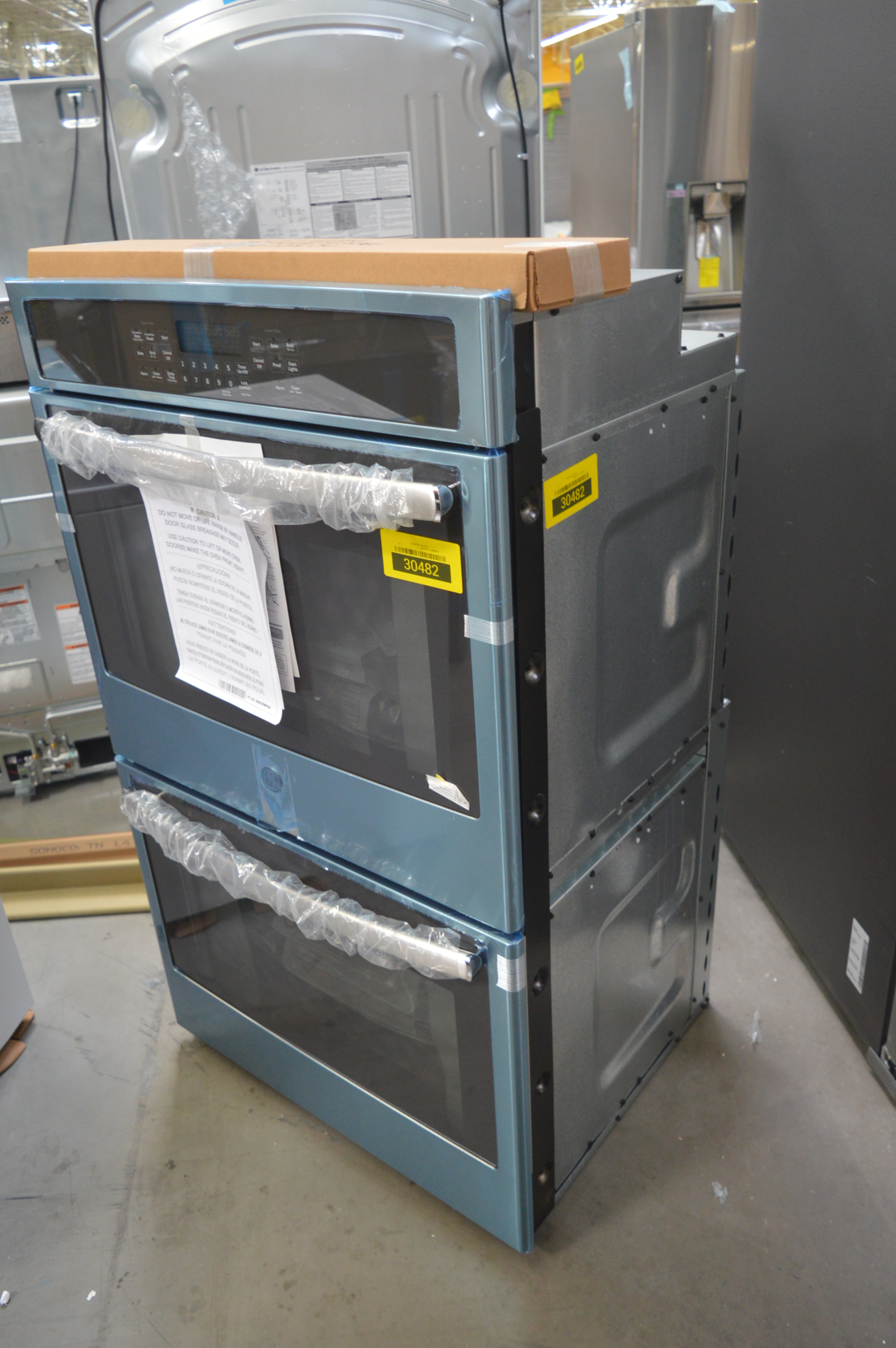 GE JT5500SFSS Double Wall Oven Stainless #30482