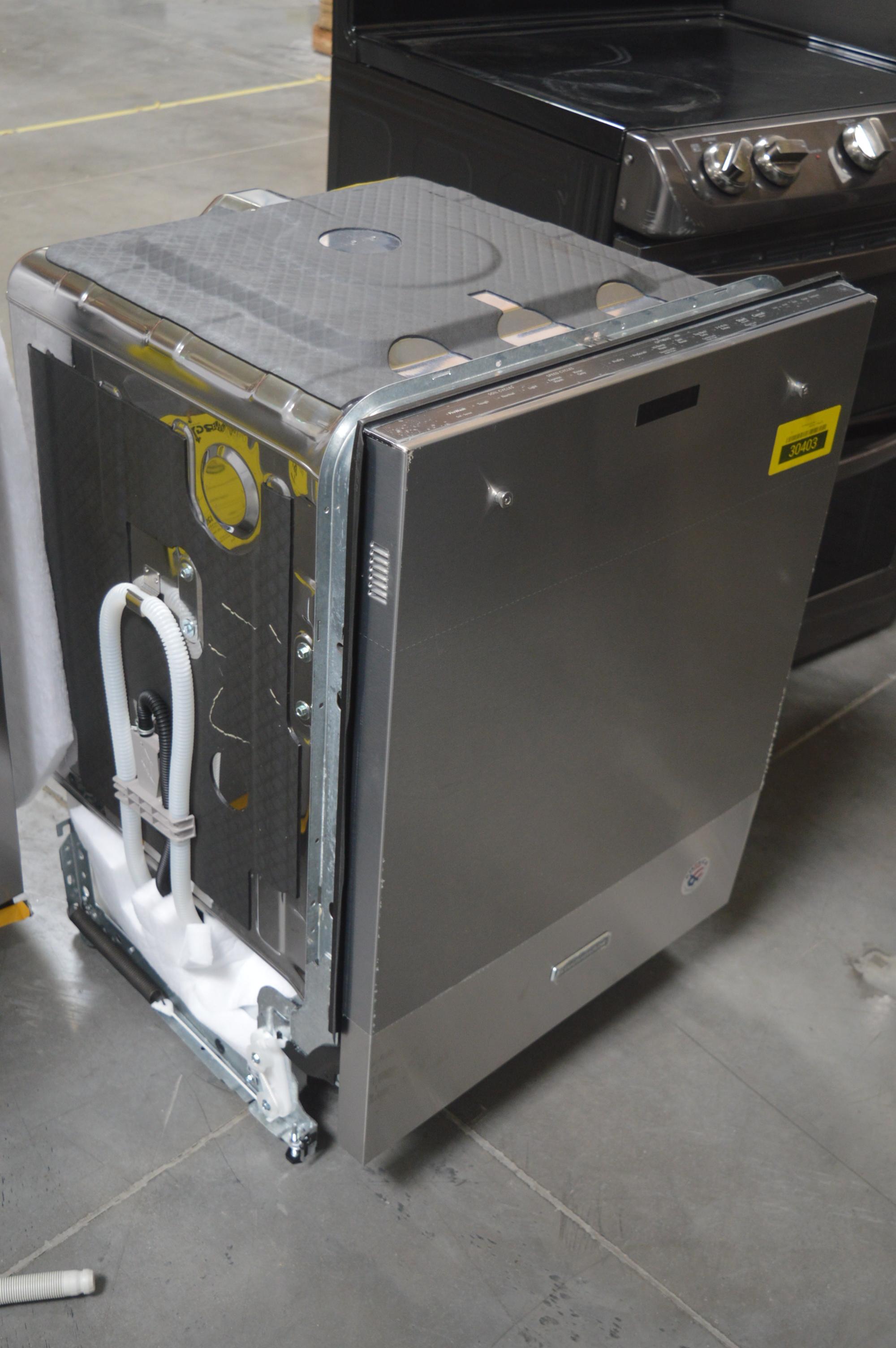 KitchenAid KDTM354DSS Fully Integrated Dishwasher Stainless