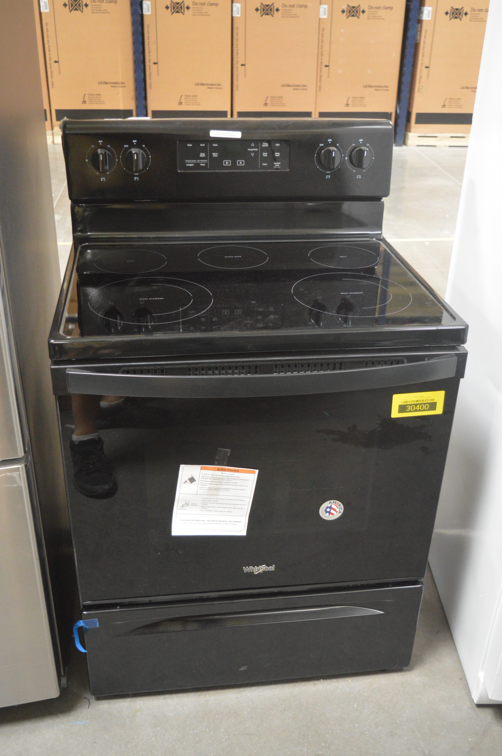 Whirlpool WFE525S0HB 30