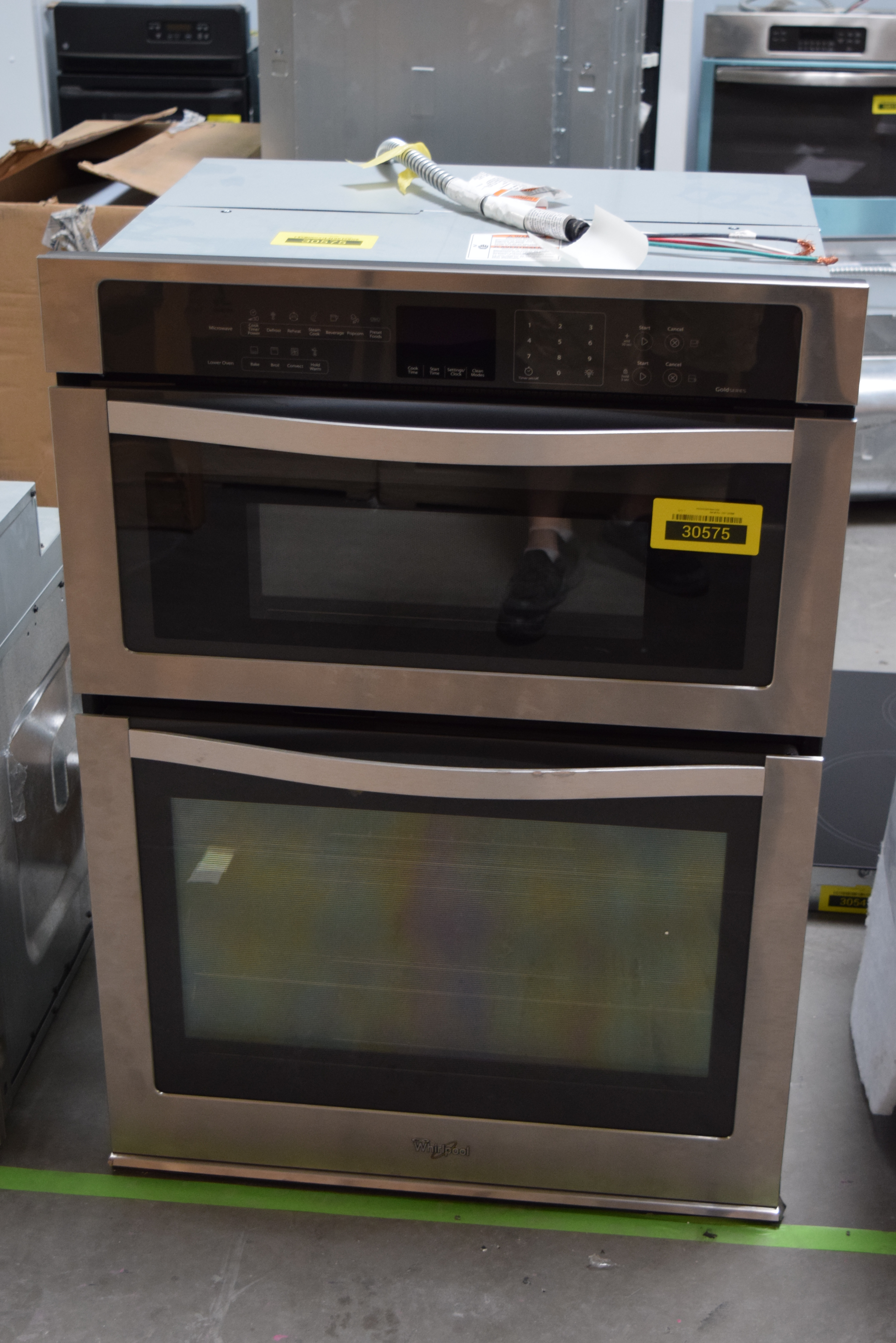 Whirlpool WOC95EC0AS 30