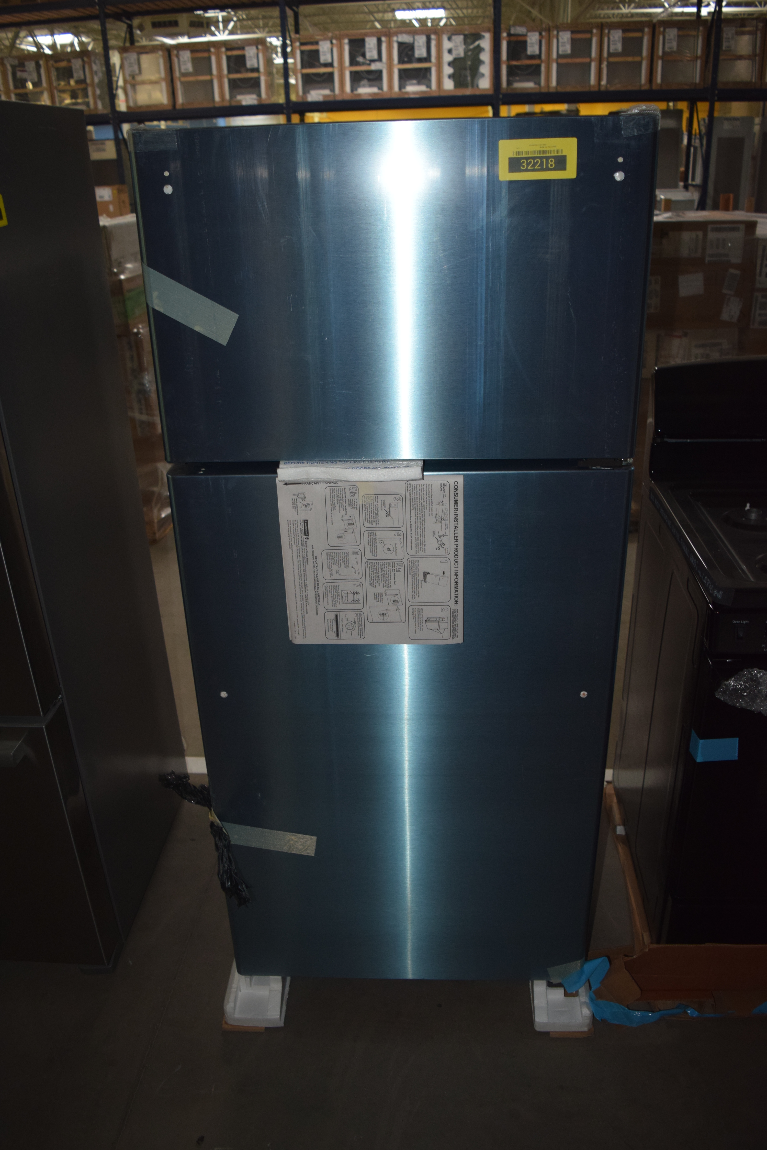 GE GIE16GSHSS Top-Freezer Refrigerator Stainless Steel