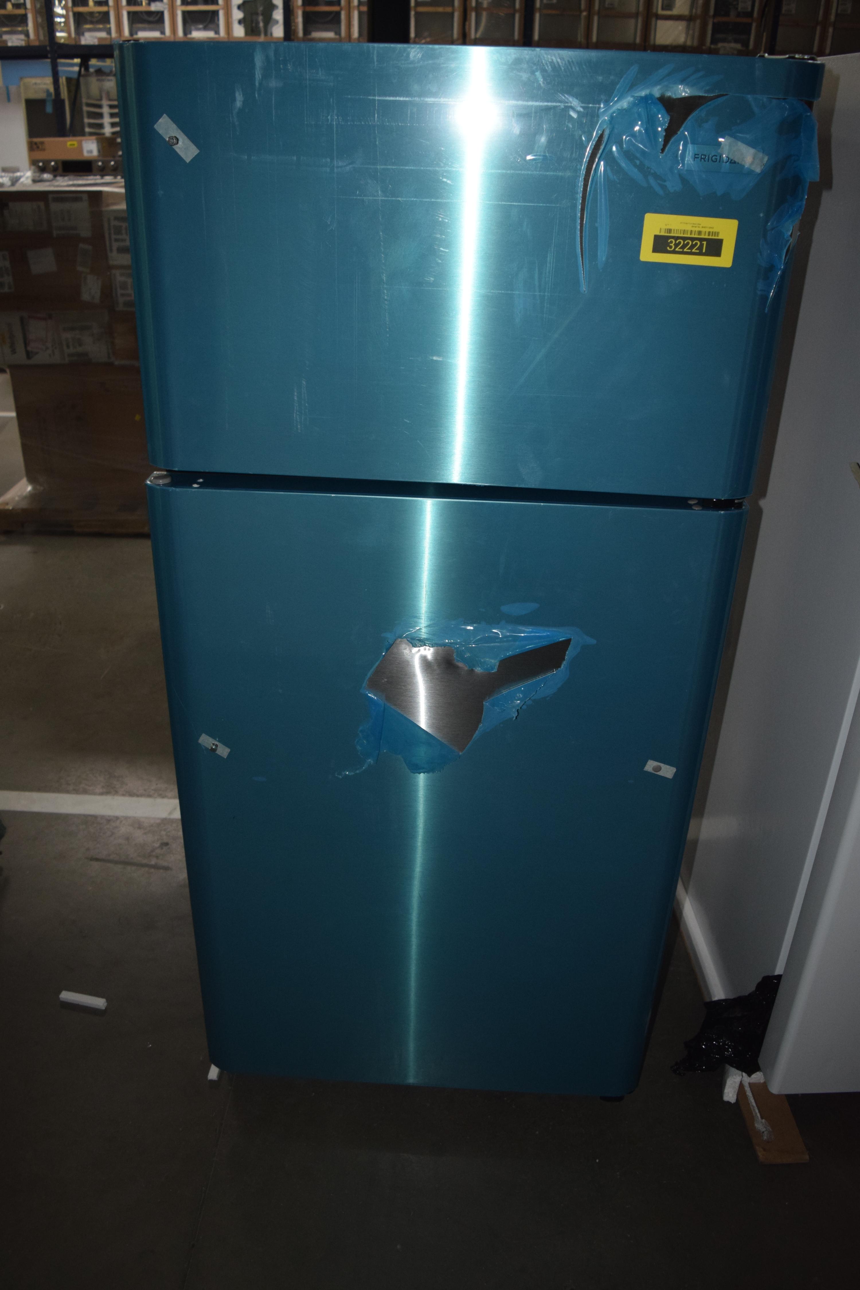 Frigidaire FFTR1821TS Top-Freezer Refrigerator Stainless Steel