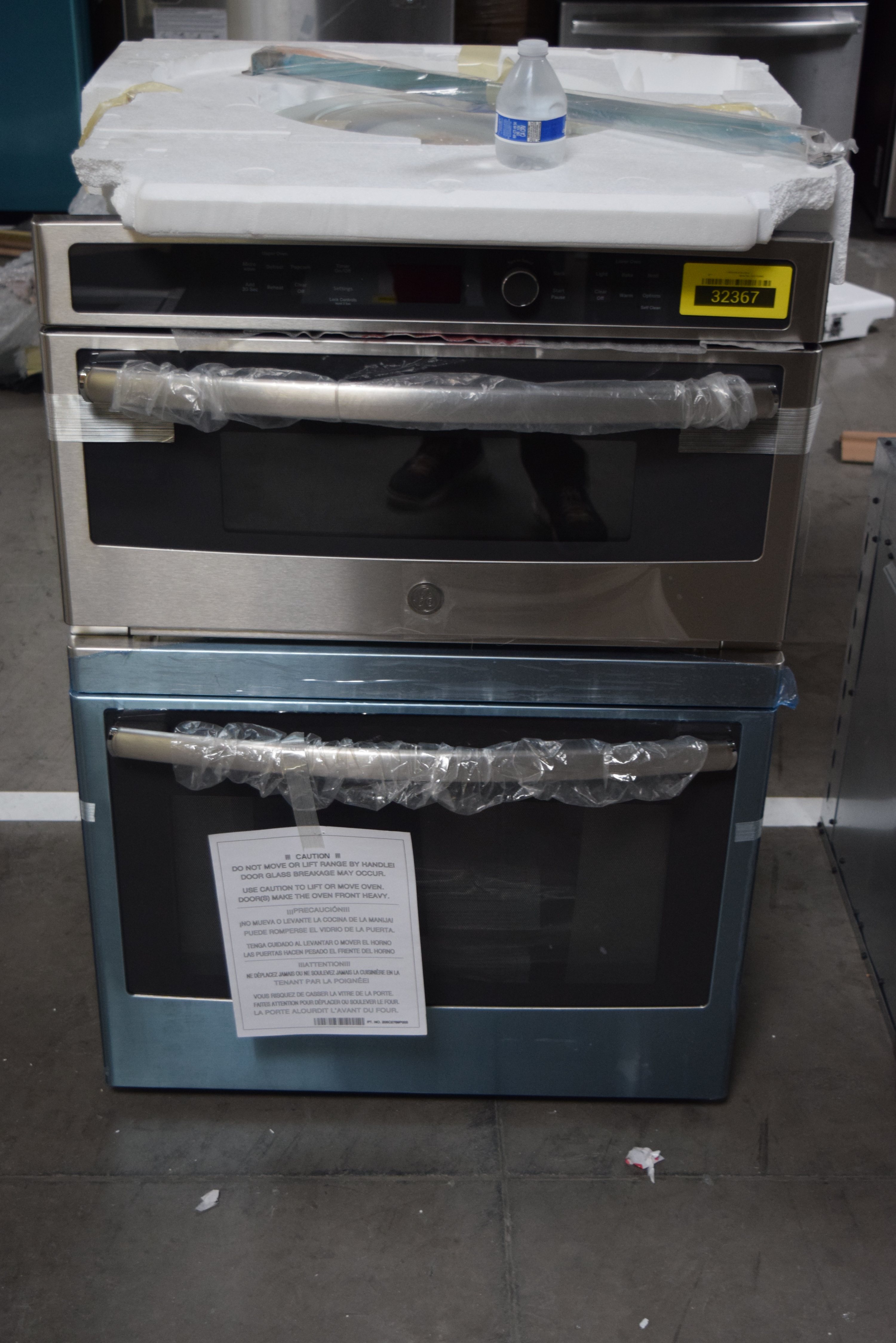 GE JT3800SHSS Microwave-Oven Combo Wall Oven Stainless #32367