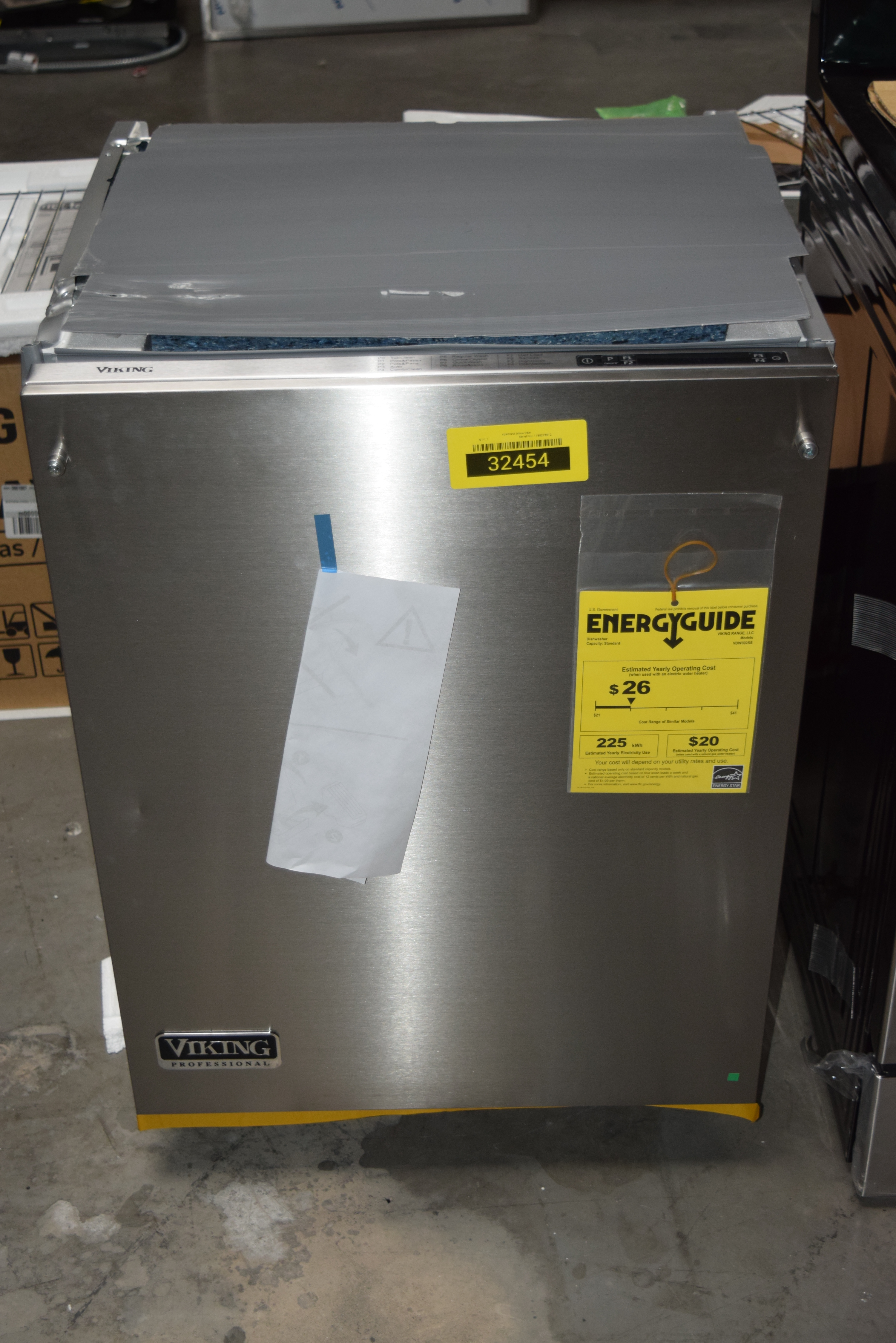 Viking VDW302SS Fully Integrated Dishwasher Stainless