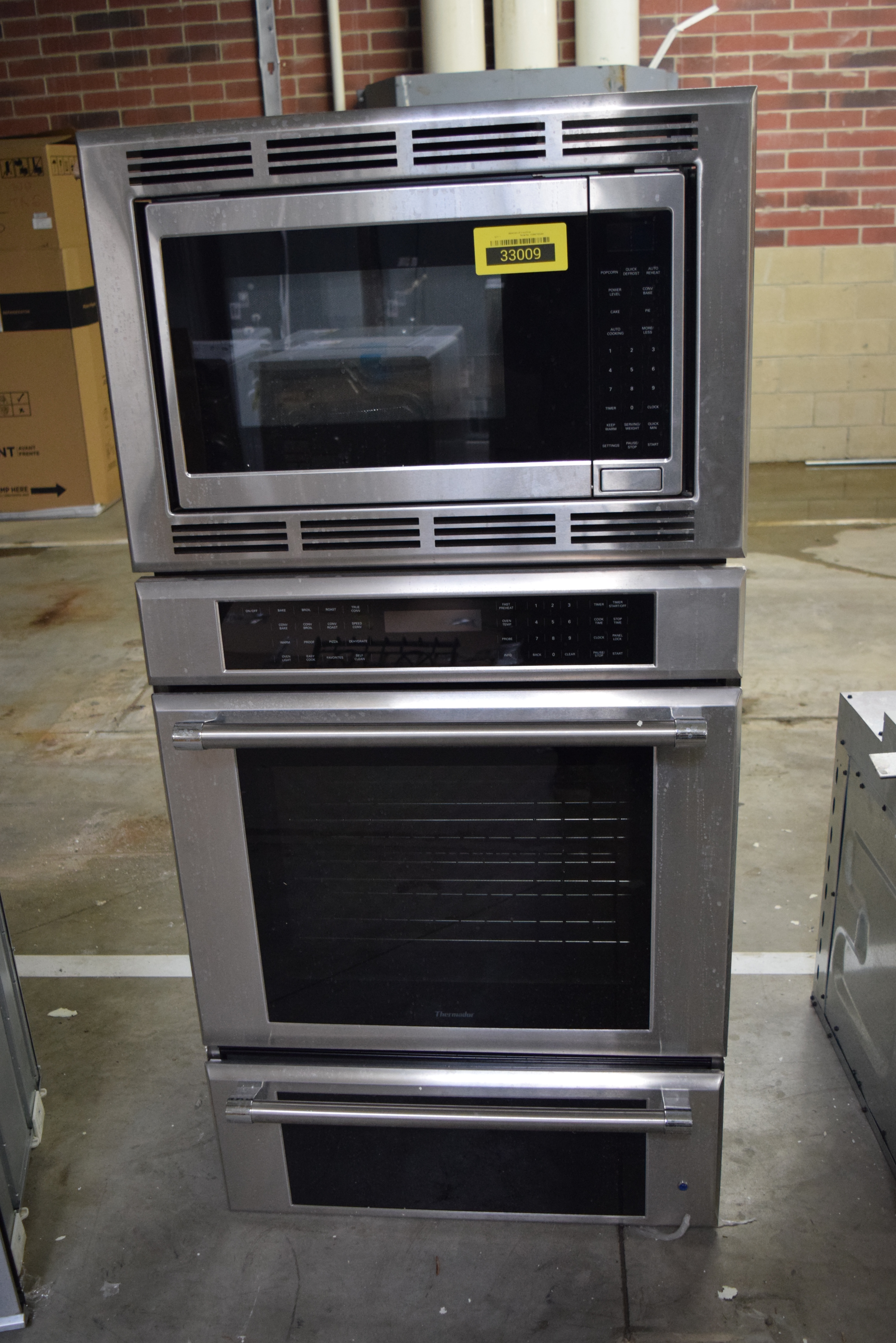Thermador MEDMCW31JP Microwave-Oven Combo Wall Oven Stainless #33009