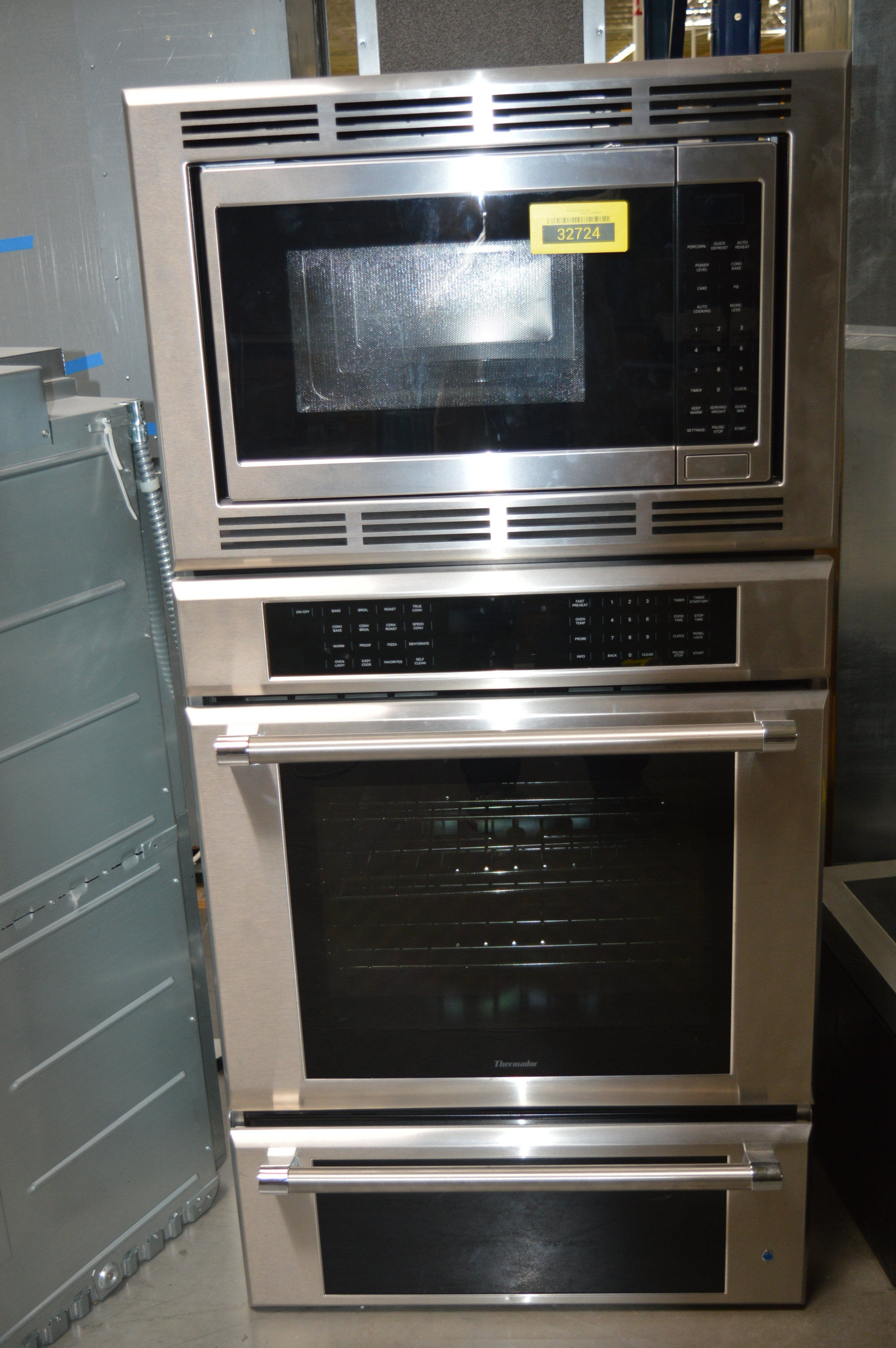 Thermador MEDMCW31JP Microwave-Oven Combo Wall Oven Stainless Steel