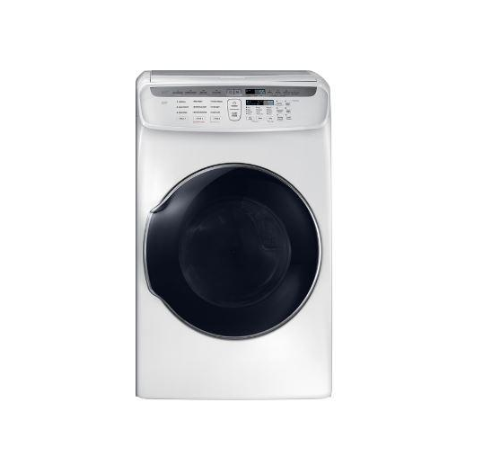 Samsung DVG55M9600W Front Load Matching Natural Gas Dryer White