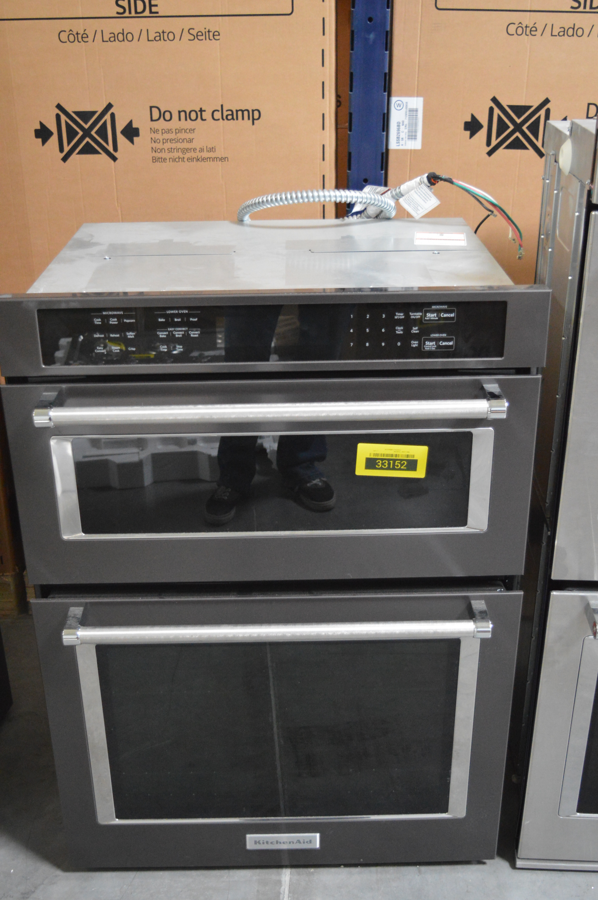 KitchenAid KOCE500EBS 30