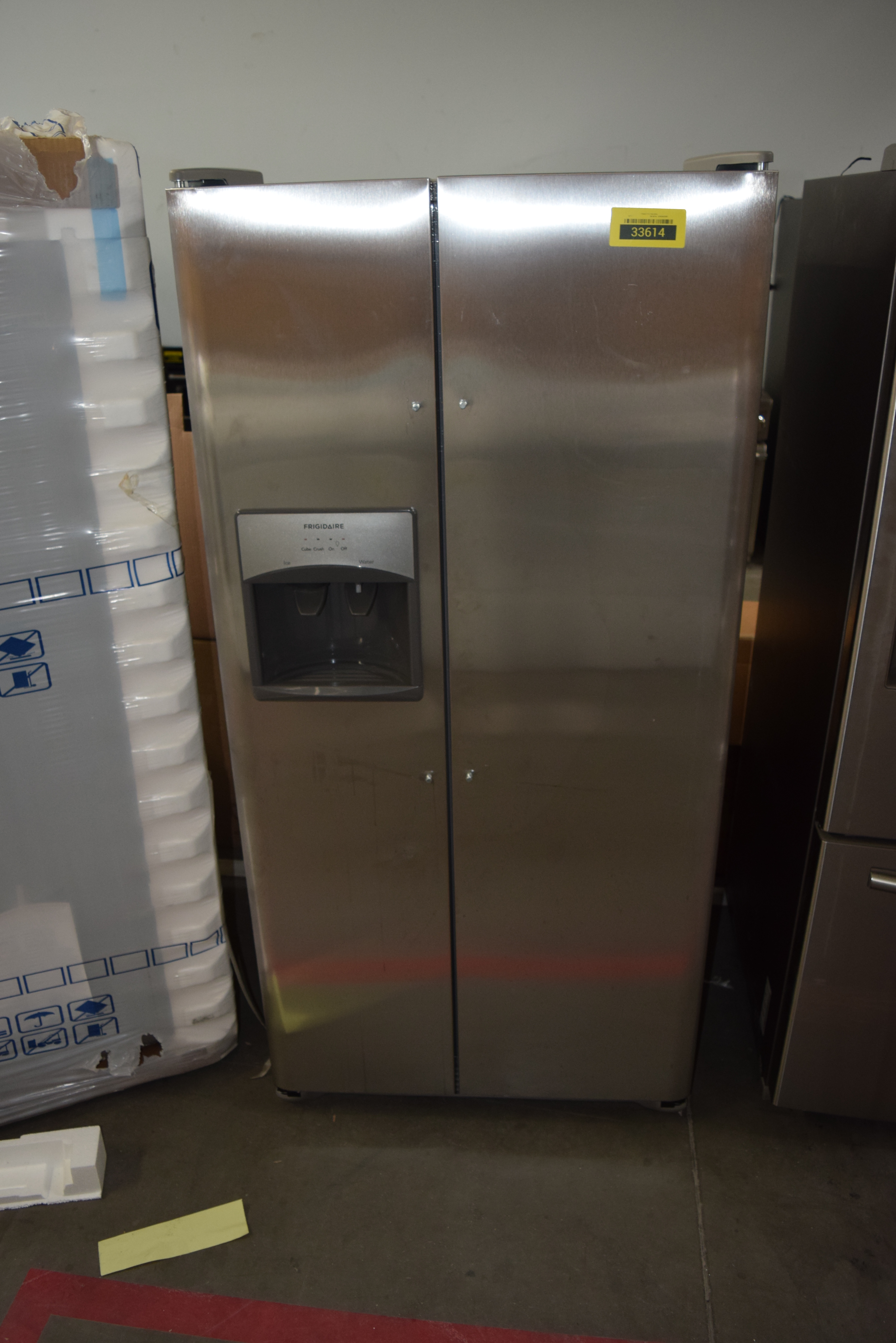 Frigidaire FFSS2315TS Side By Side Refrigerator Stainless Steel