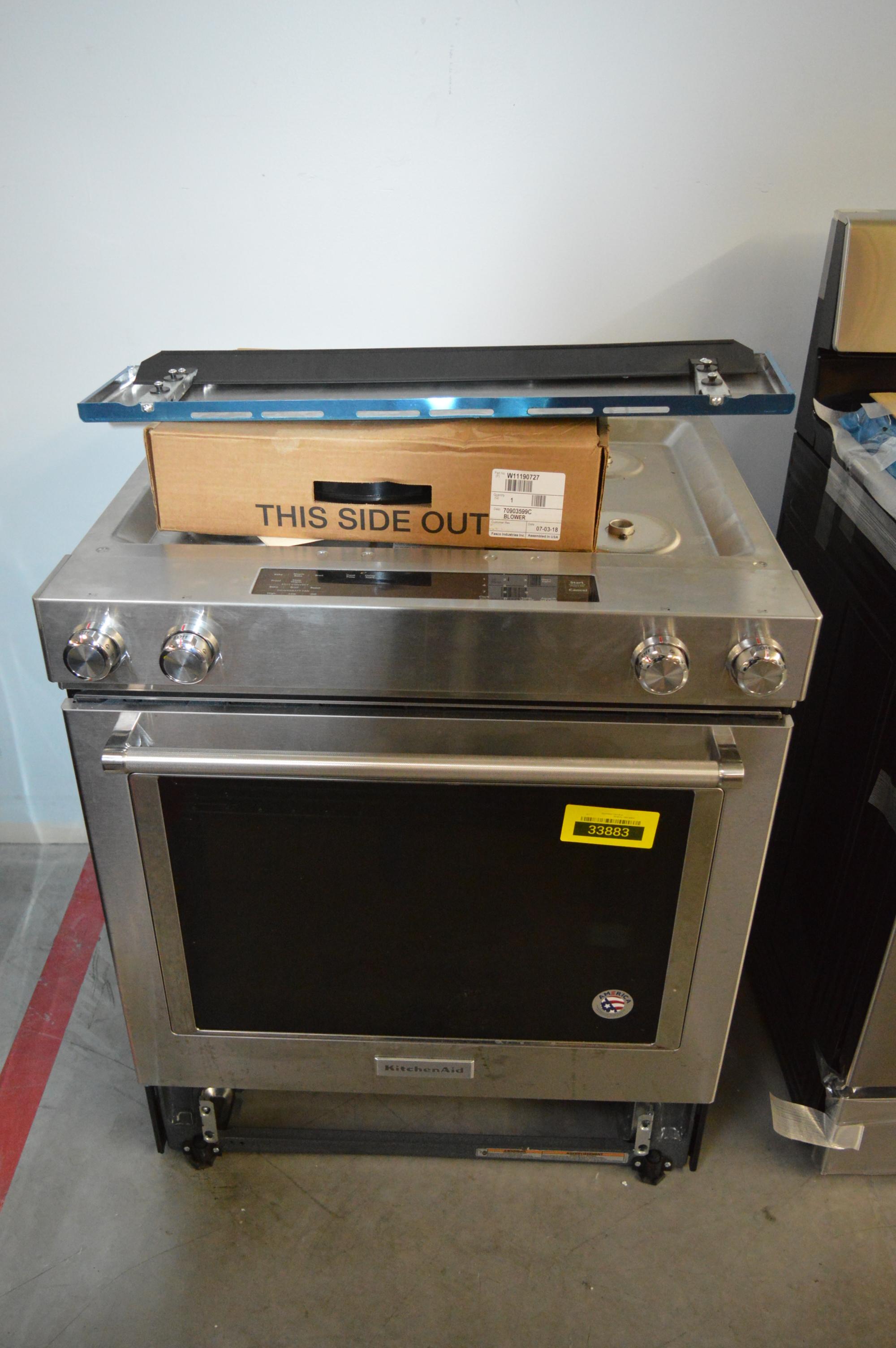 KitchenAid KSDG950ESS Dual-Fuel Range Stainless