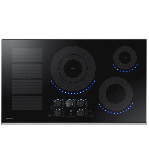 Samsung NZ36K7880US Induction Cooktop Stainless Steel