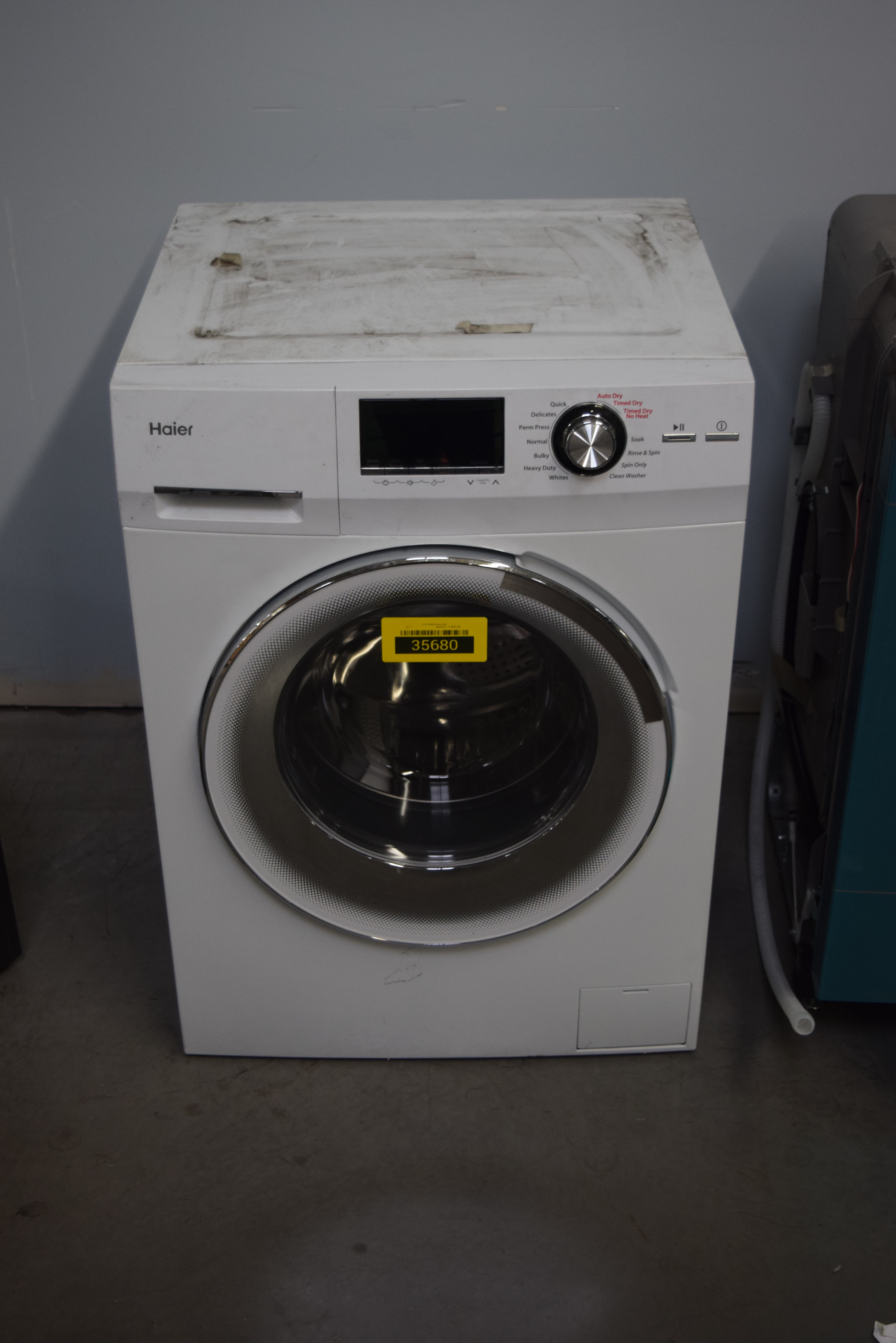 Haier HLC1700AXW Washer/Dryer Combo White