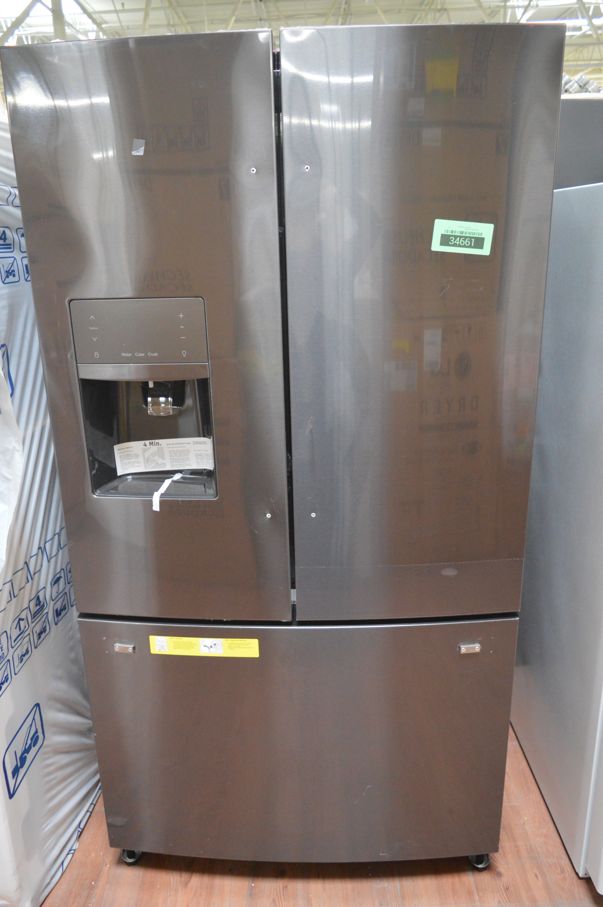 FFHB2750TD3 French Door Refrigerator Black Stainless