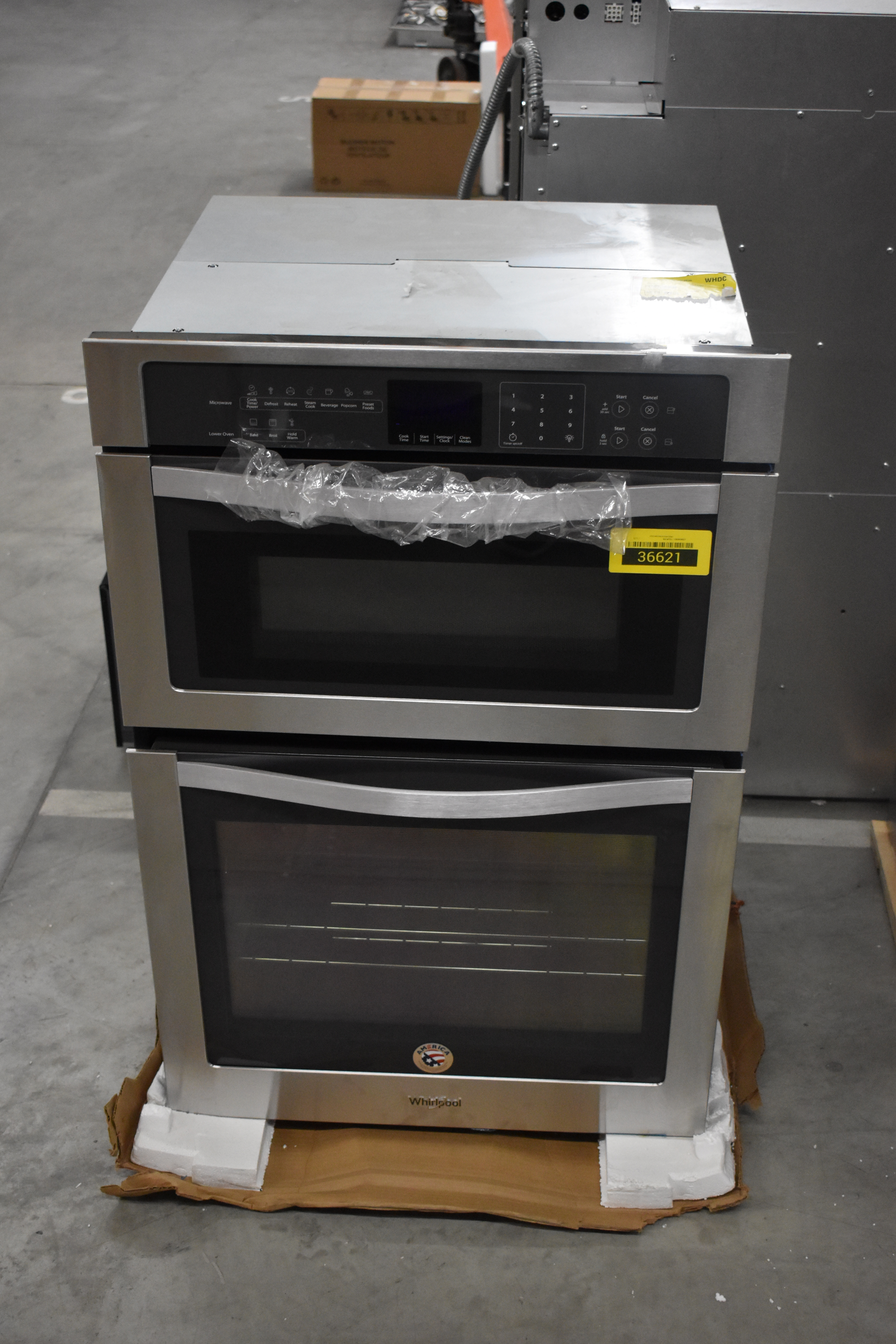 Whirlpool WOC54EC7AS Double Wall Oven Stainless