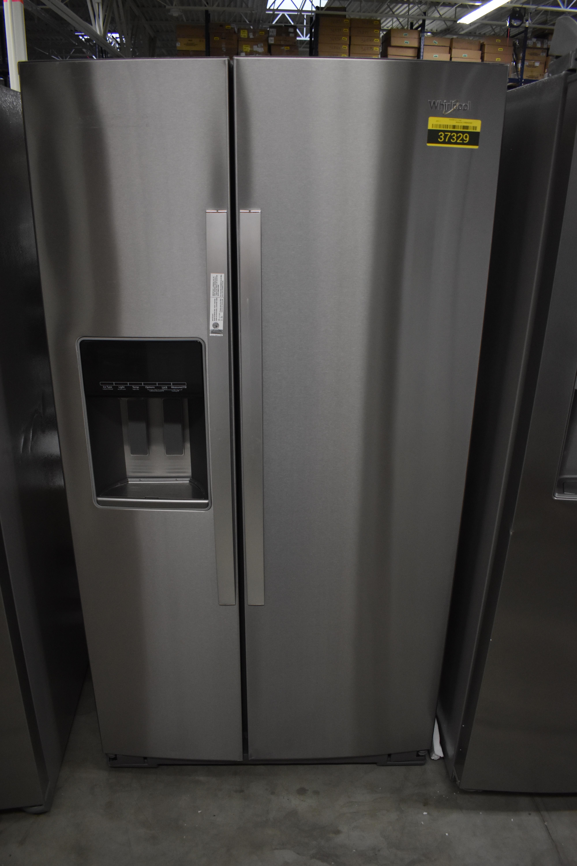 Whirlpool WRS588FIHZ Side By Side Refrigerator 36
