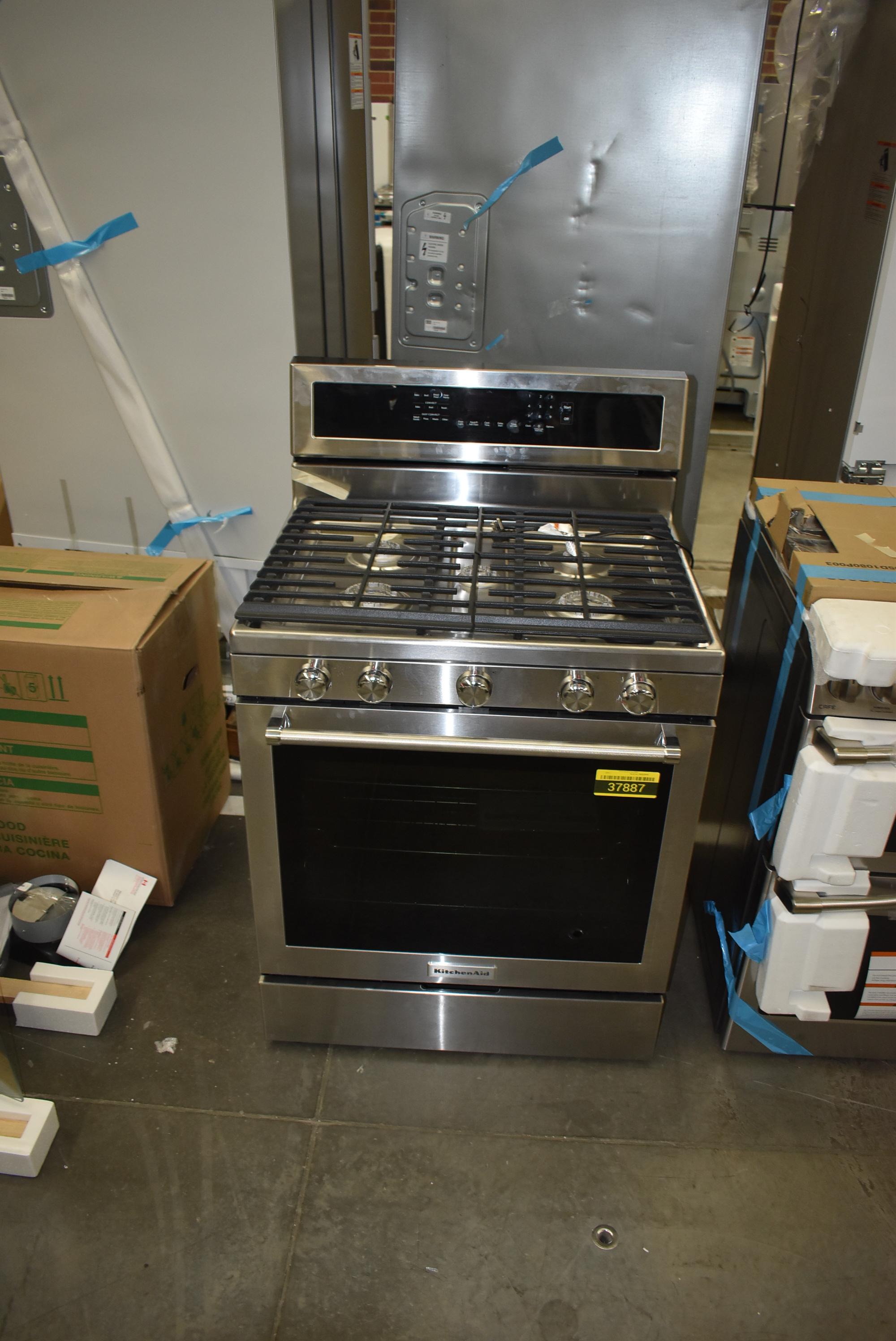 KitchenAid KFGG500ESS 30