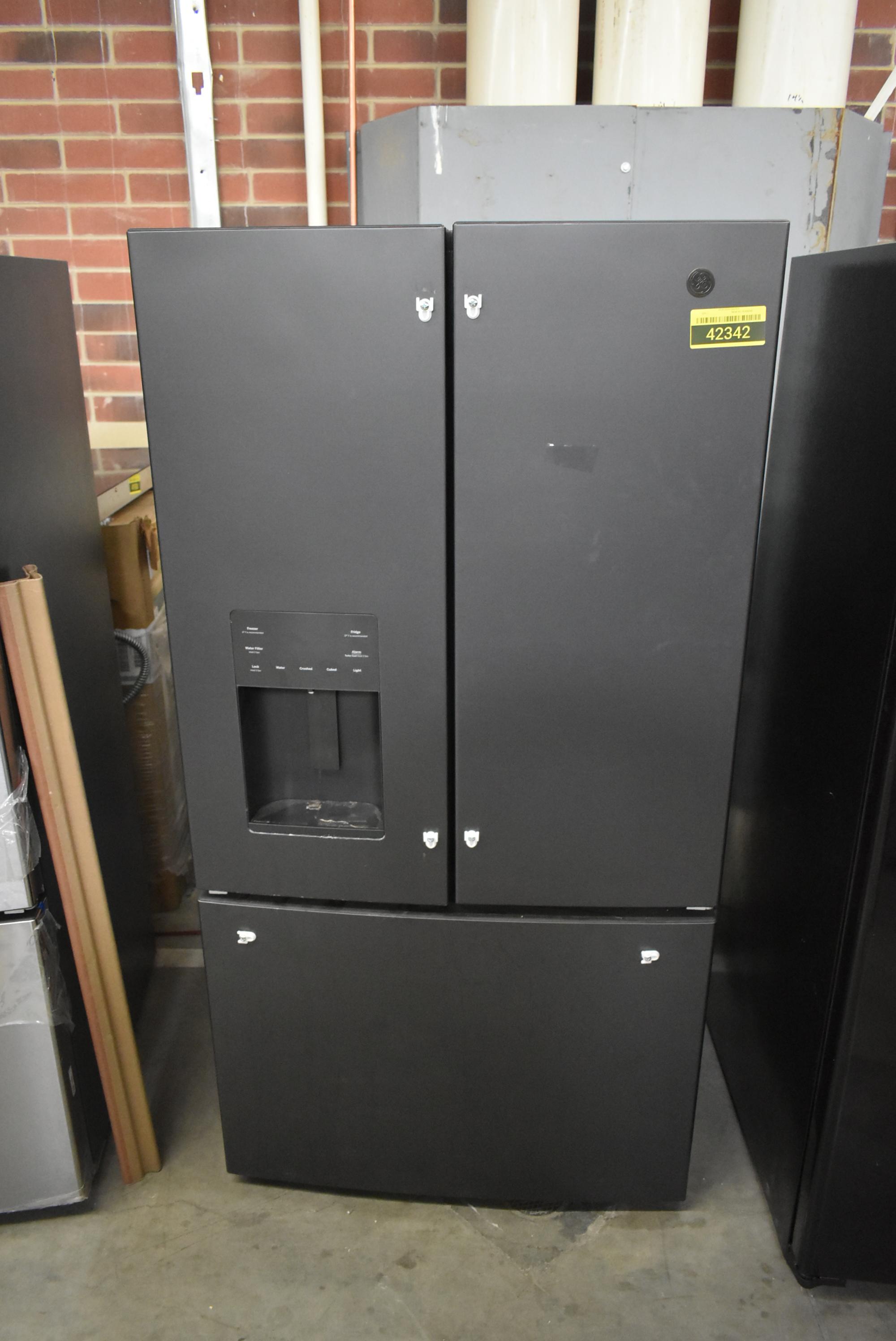 Ge Gfe26jemds 36 Quot Black Slate French Door Refrigerator