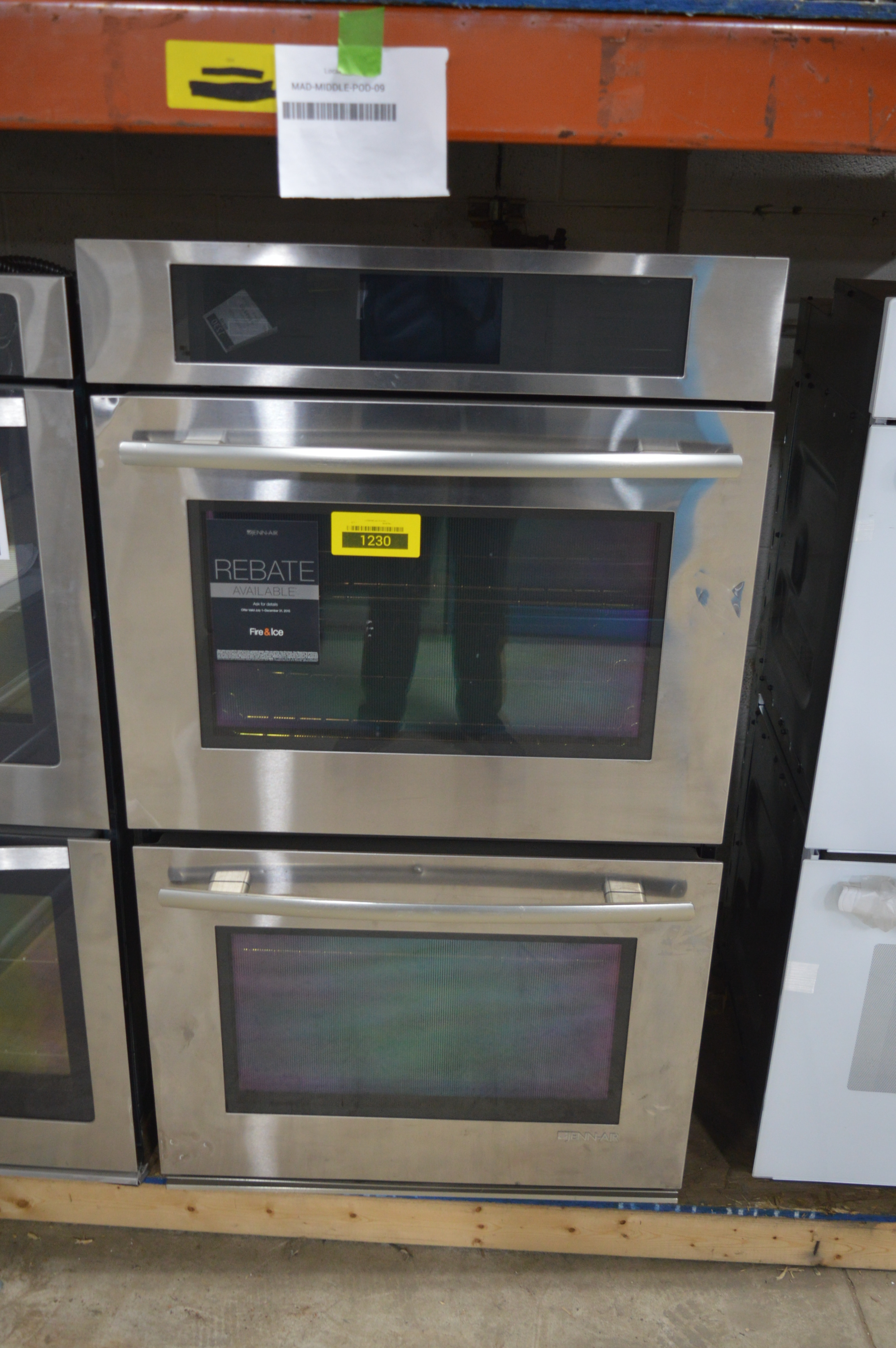 Jenn Air Jjw3830ws 30 Quot Stainless Double Electric Wall Oven