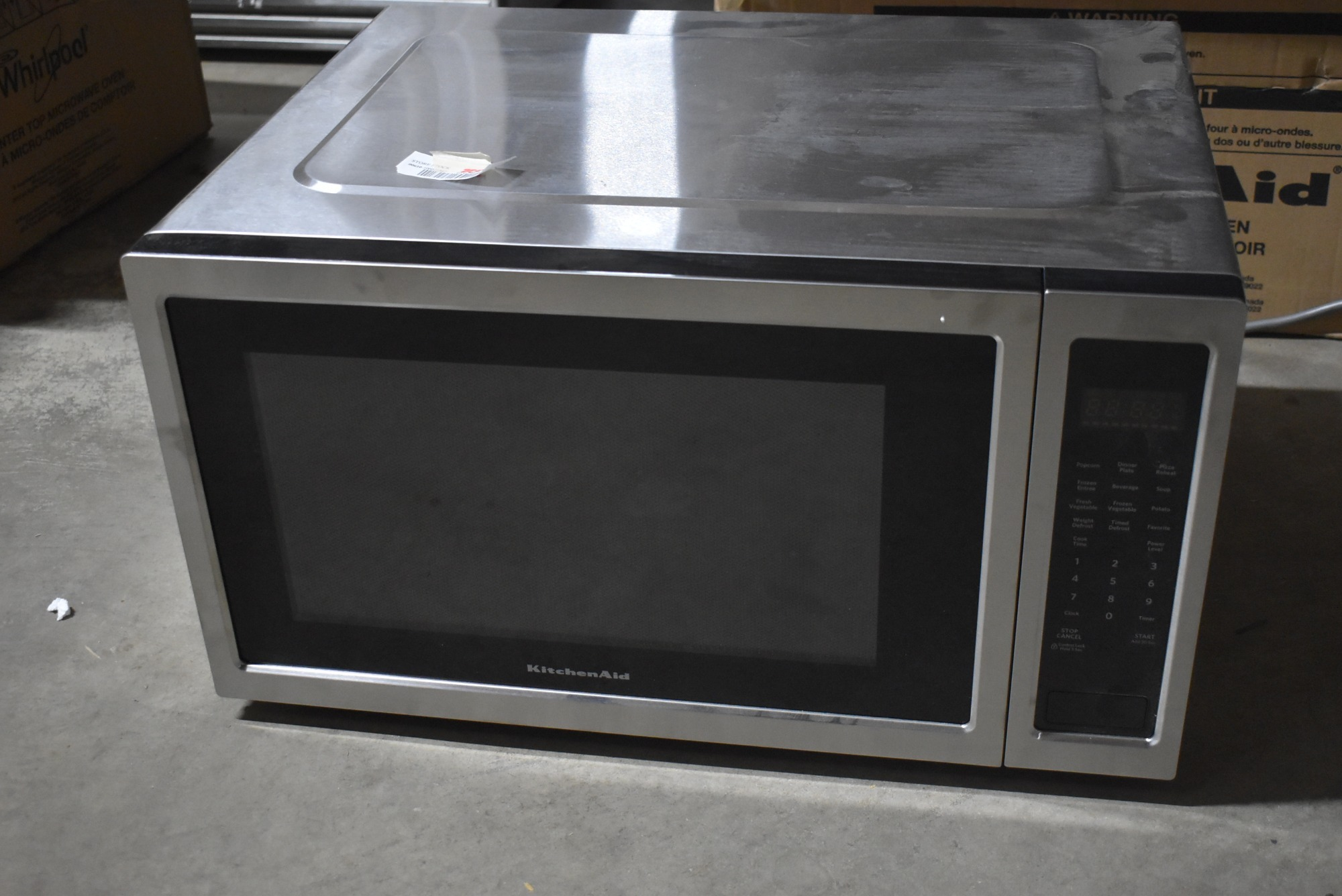KitchenAid Microwave 22
