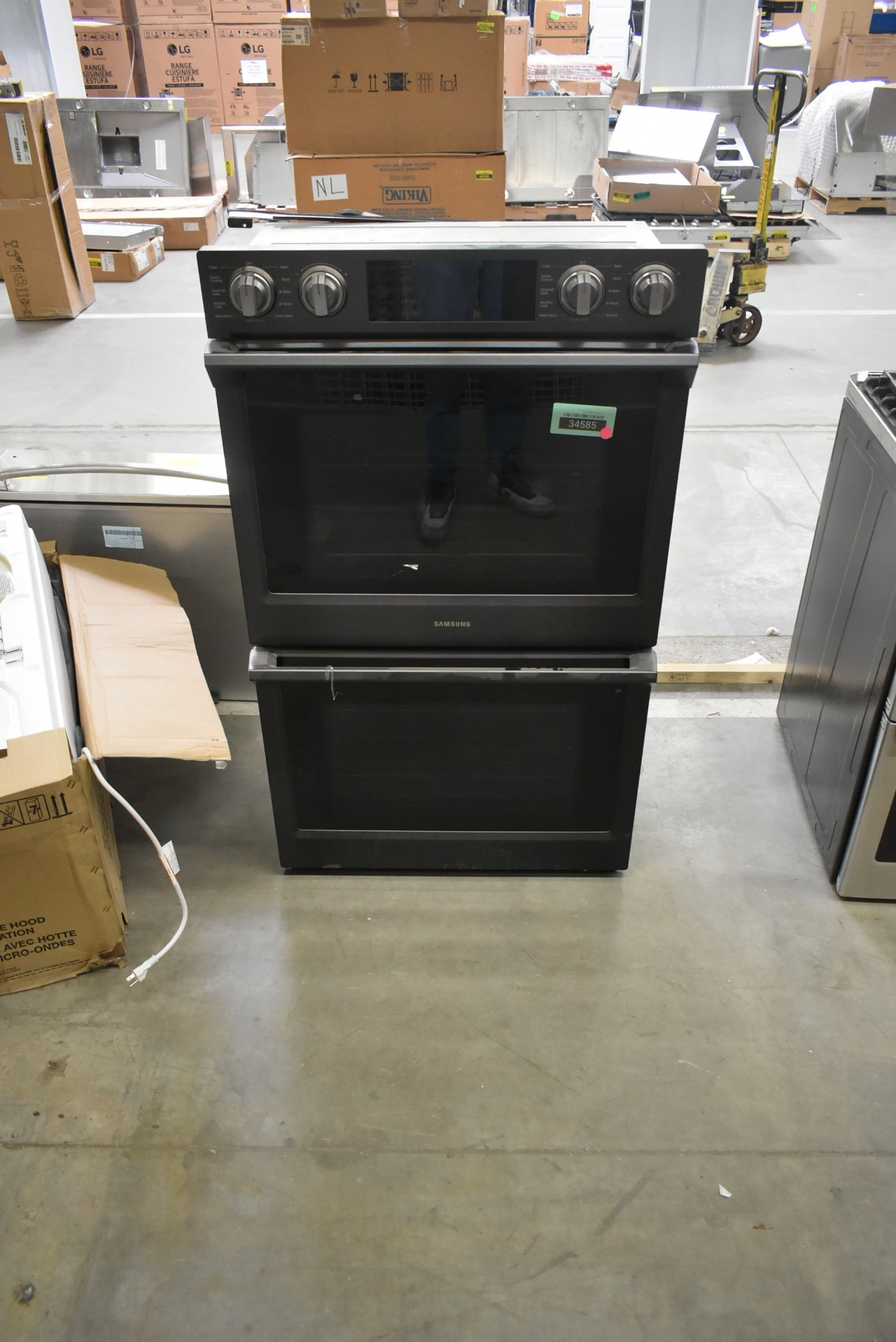 Samsung Nv51k7772dg 30 Quot Black Stainless Double Electric