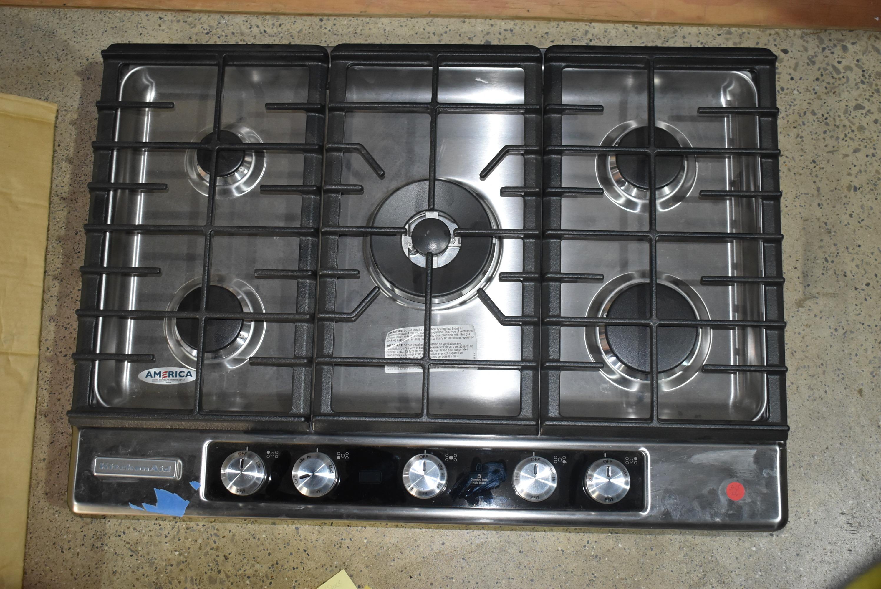 KitchenAid KFGU706VSS 30\