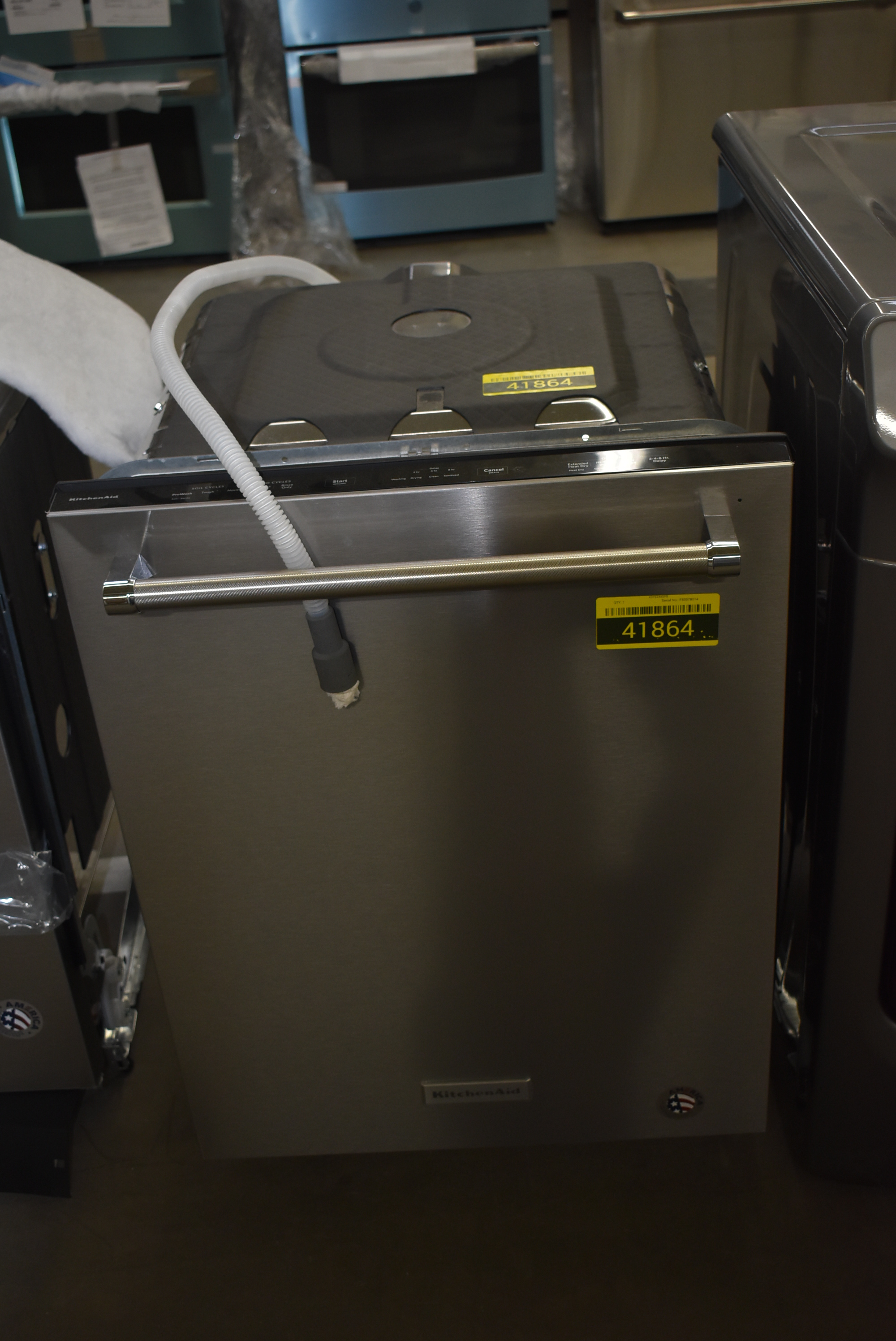 Kitchenaid Kdpe234gps 24 Stainless Fully Integrated Dishwasher Nob 41864 Hrt