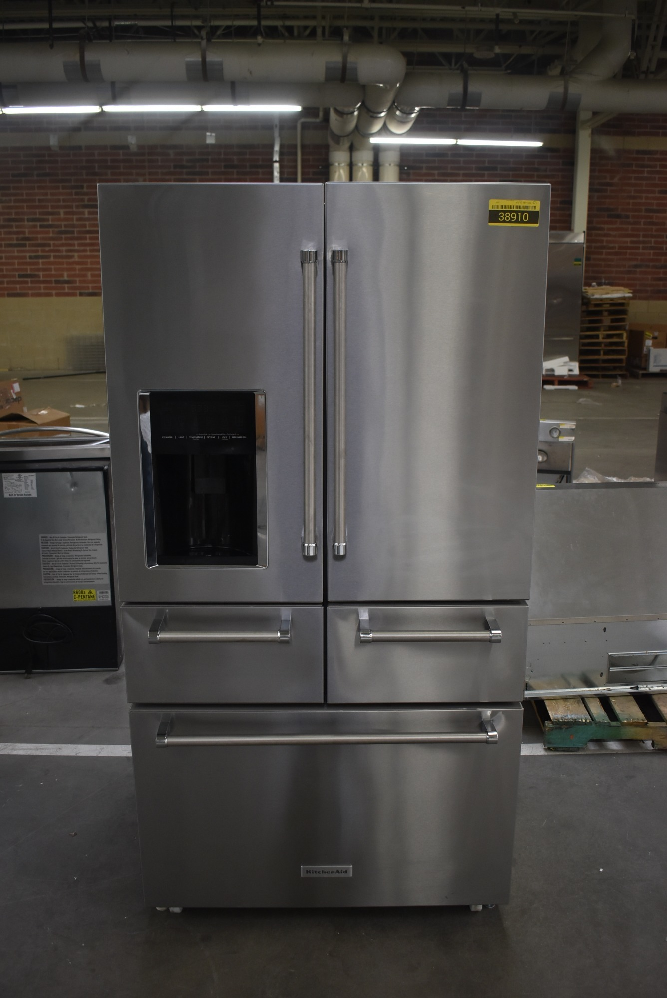 KitchenAid KRMF706ESS 36