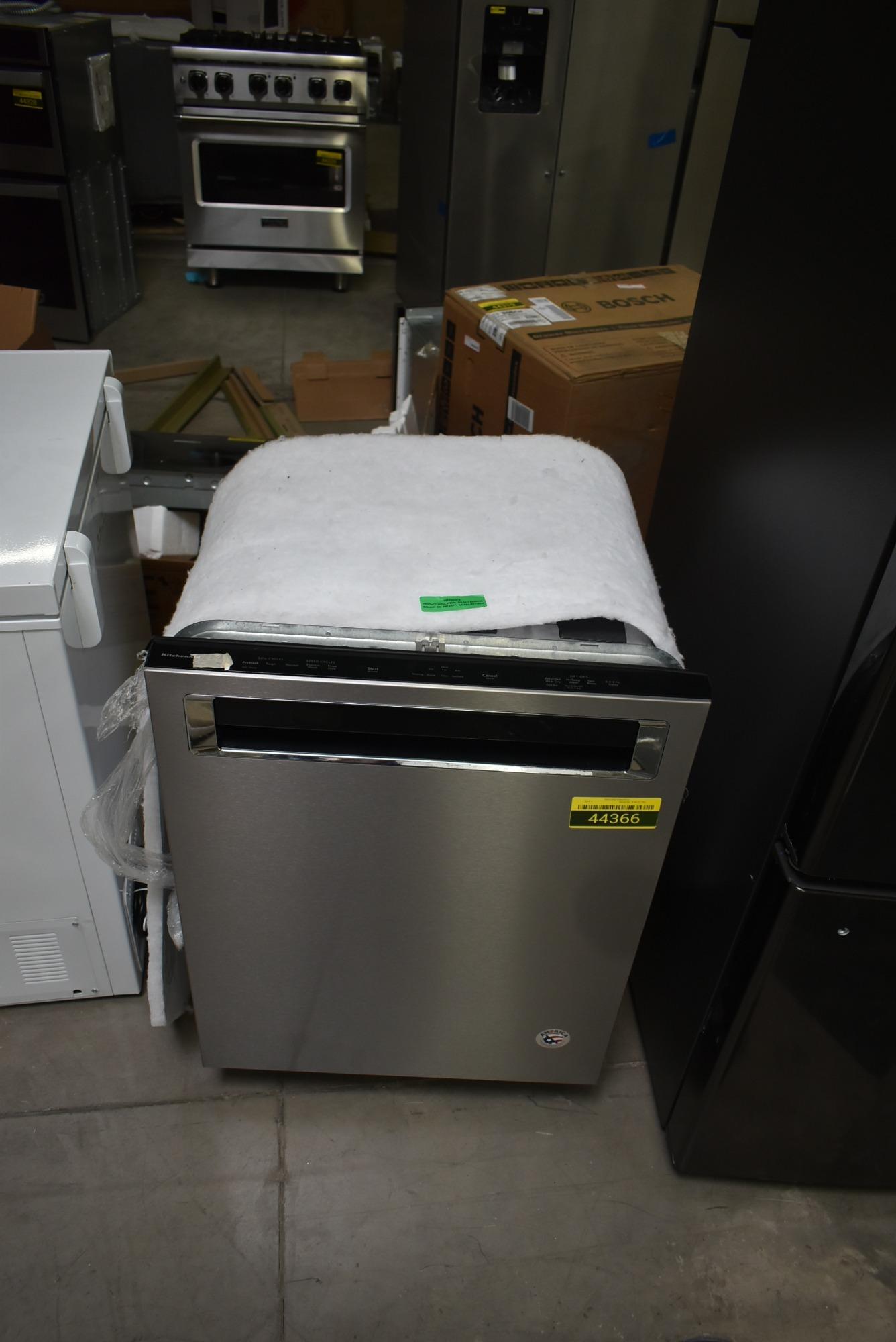 Kitchenaid Kdpe234gps 24 Stainless Fully Integrated Dishwasher Nob 44366 Hrt