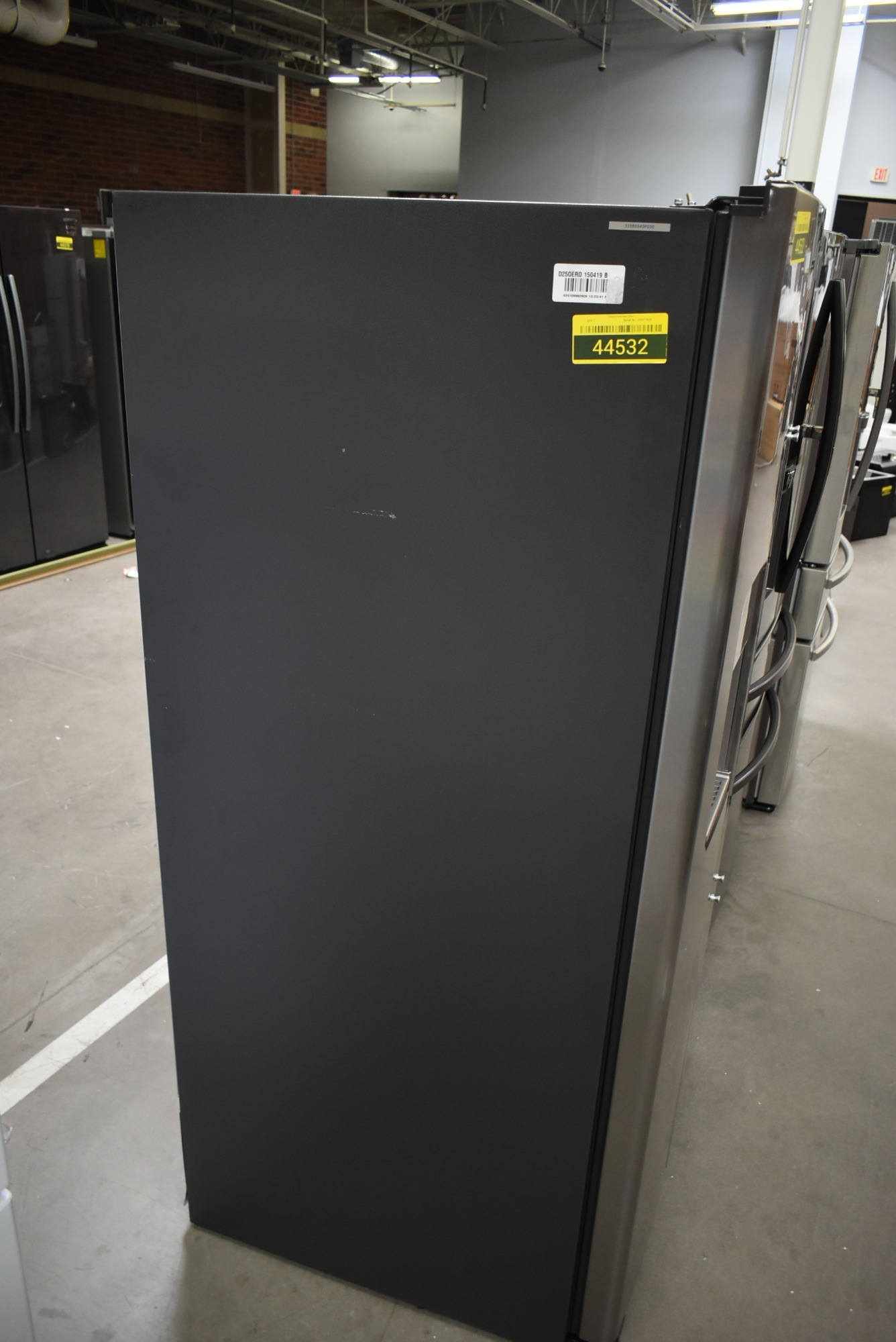 Ge Gss25iynfs 36 Quot Stainless Side By Side Refrigerator