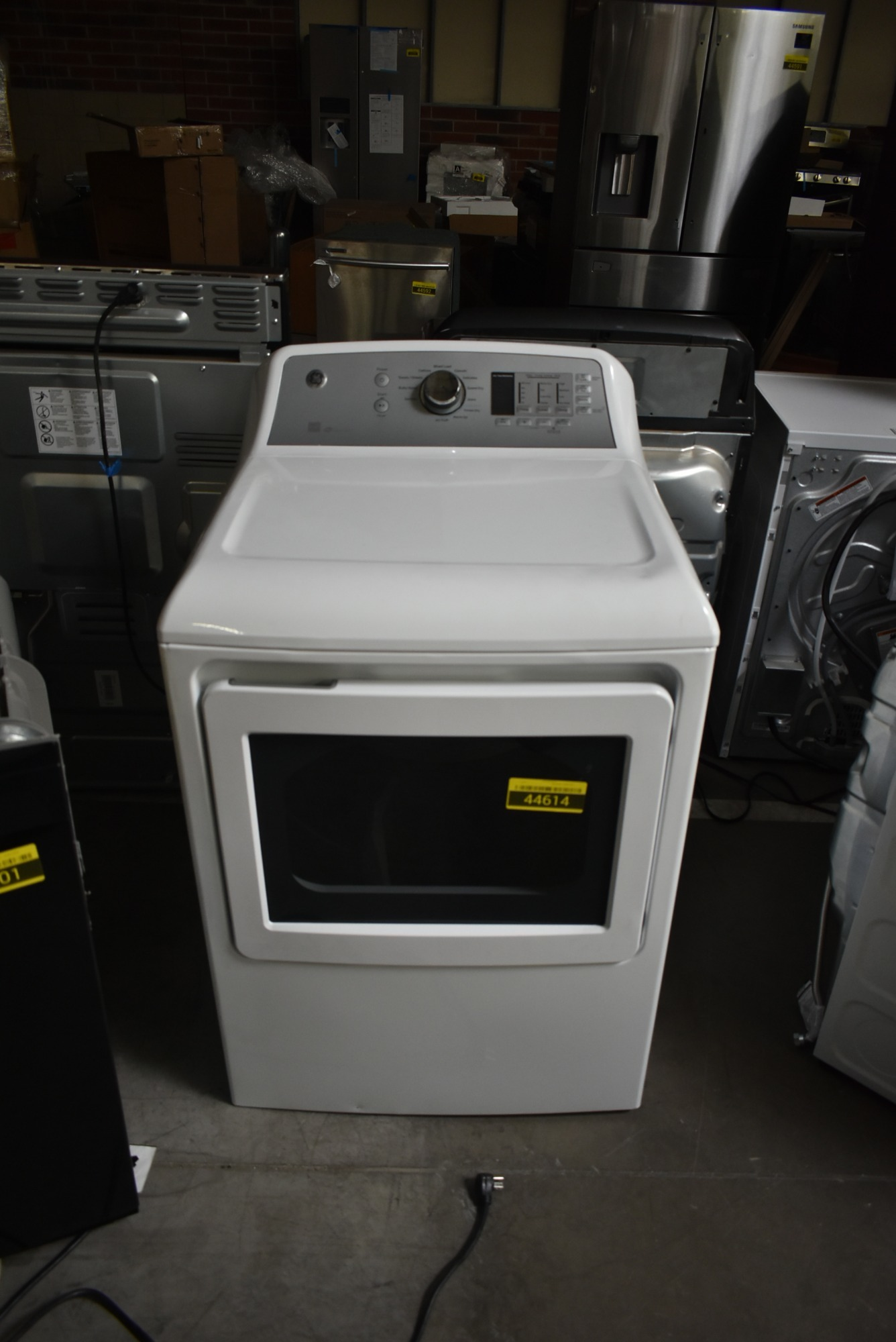 Ge Gtd65ebsjws 27 Quot White Front Load Electric Dryer Nob