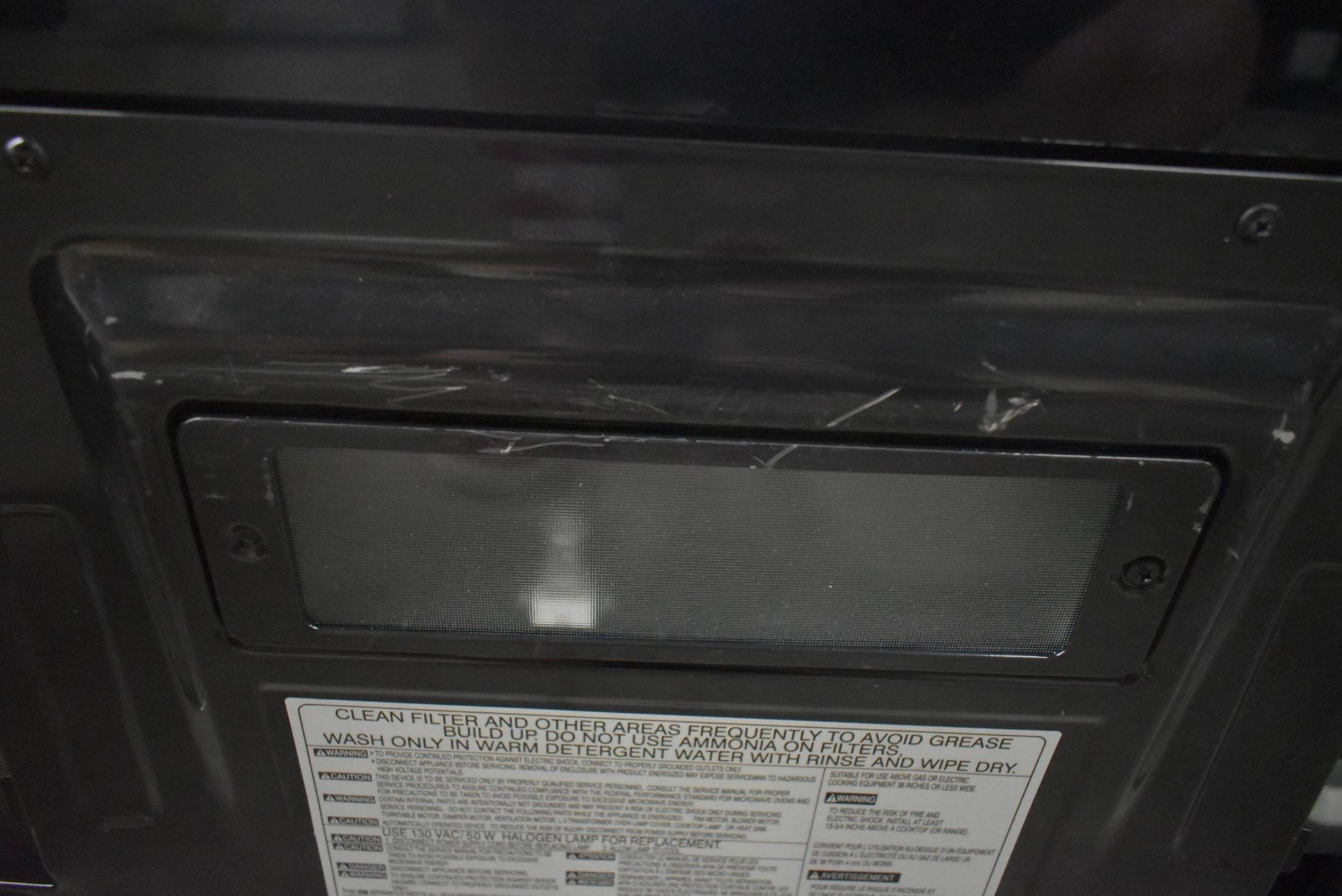 LG Stainless Steel over-The-Range Microwave Oven-LMV2031ST