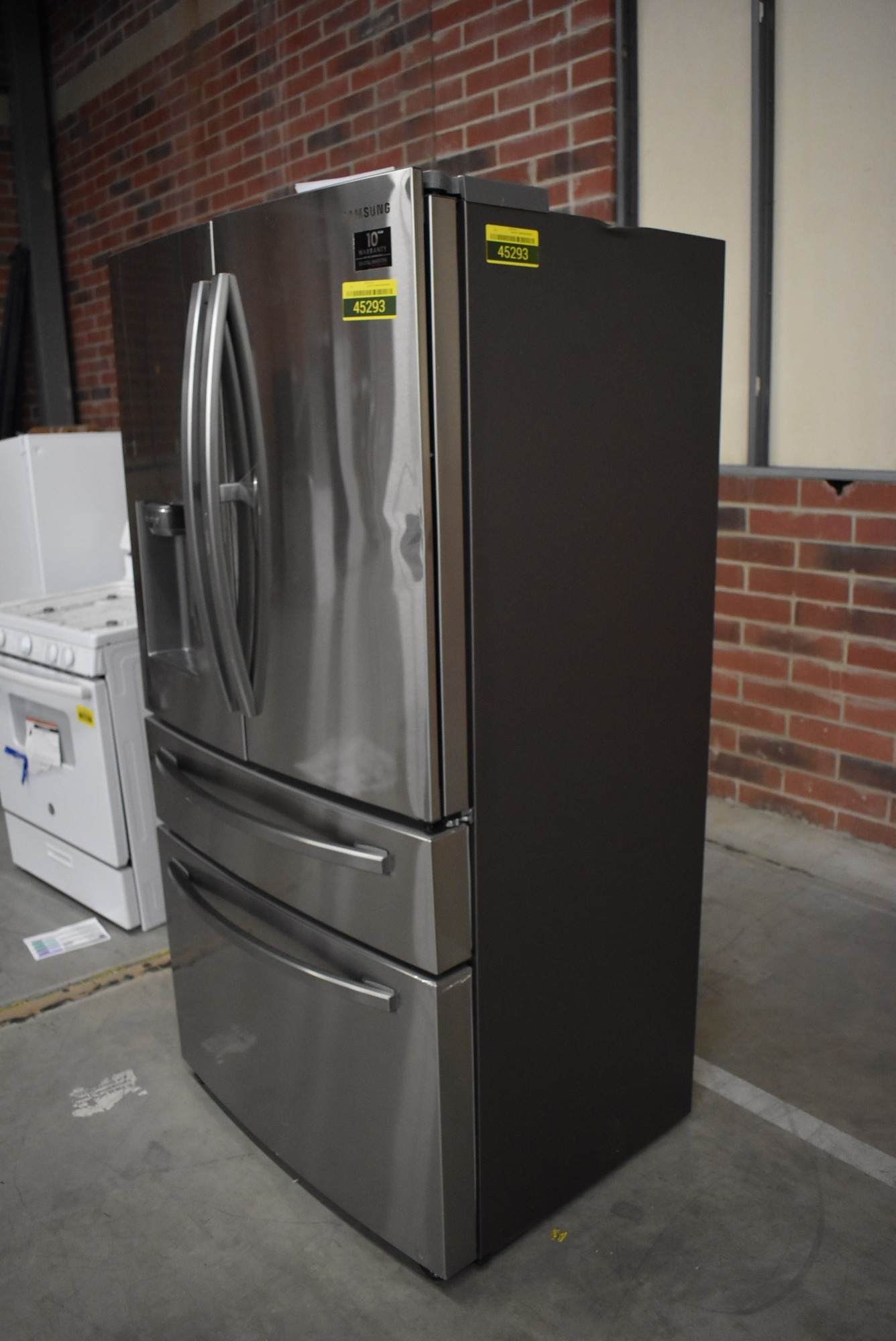 Samsung Rf22r7351sr 36 Quot Stainless French Door Refrigerator