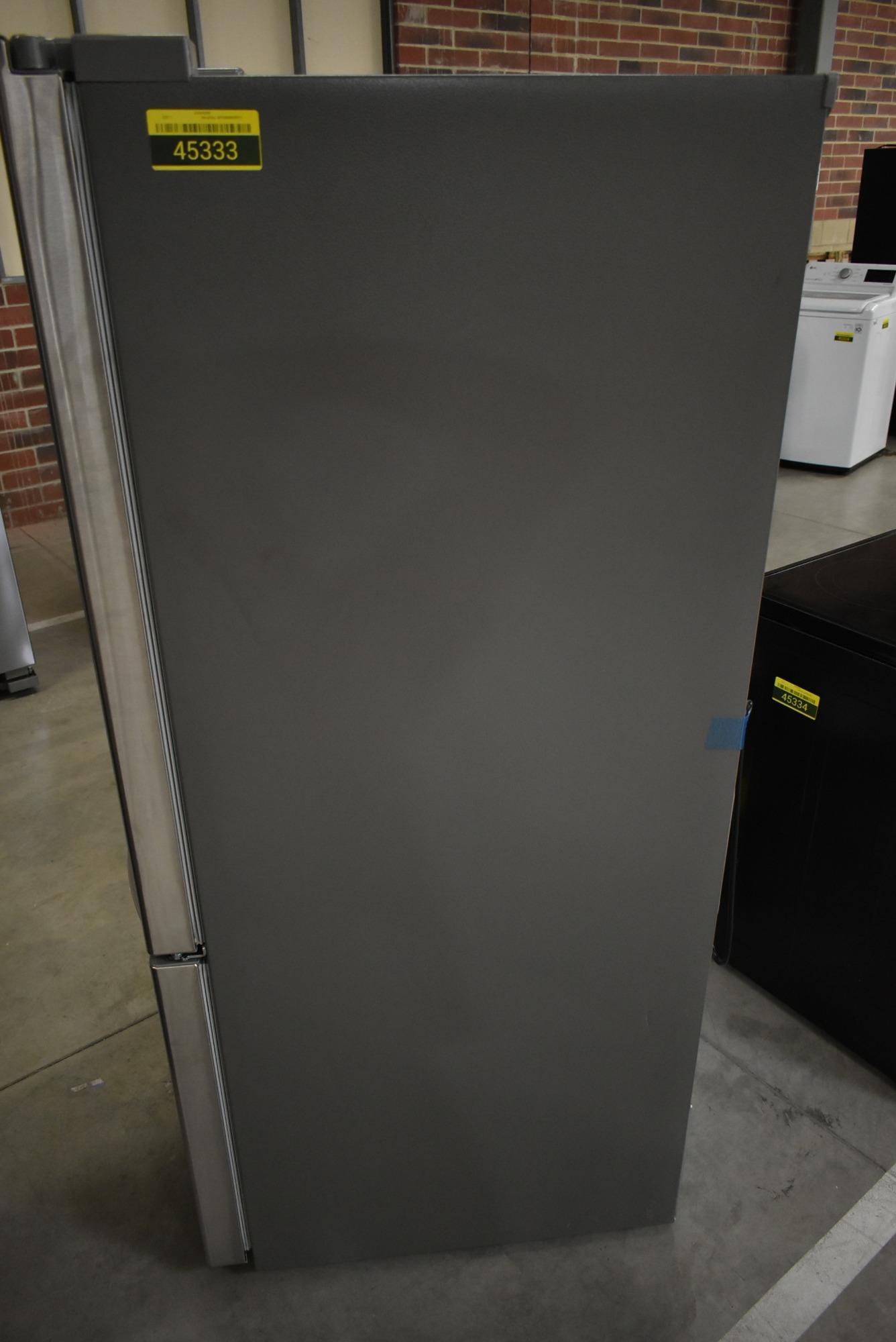 Lg Ldcs24223s 33 Quot Stainless Bottom Freezer Refrigerator