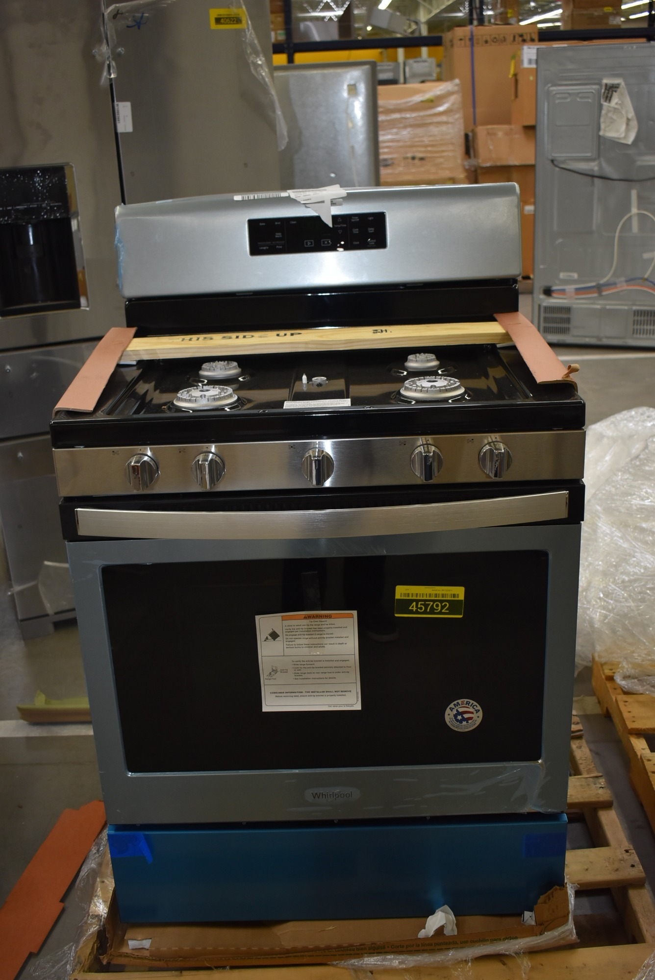 Whirlpool WFG525S0HS 30