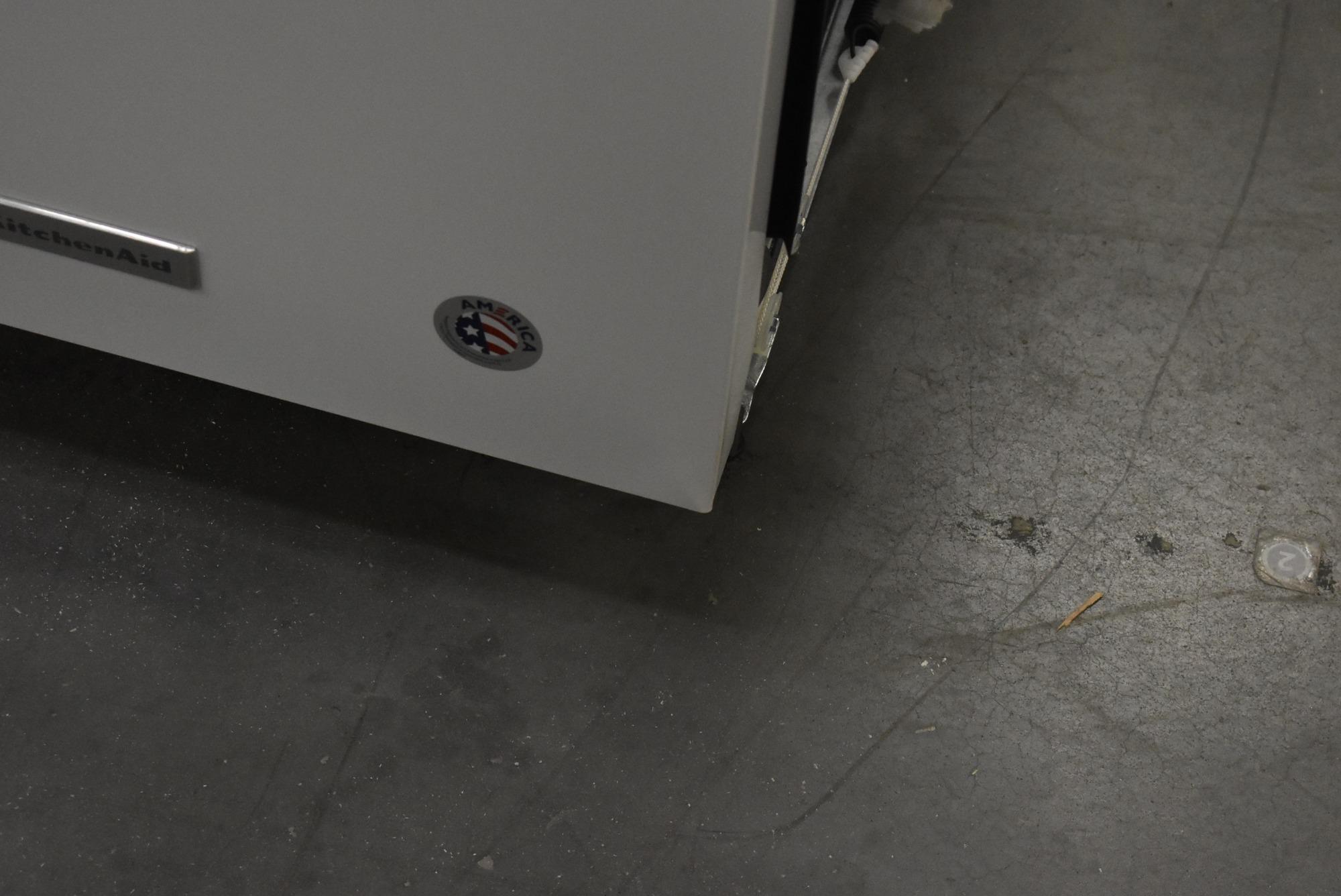 Kitchenaid Dishwasher White >> Kitchenaid Kdte234gwh 24 White Fully Integrated Dishwasher Nob 47865 Hrt