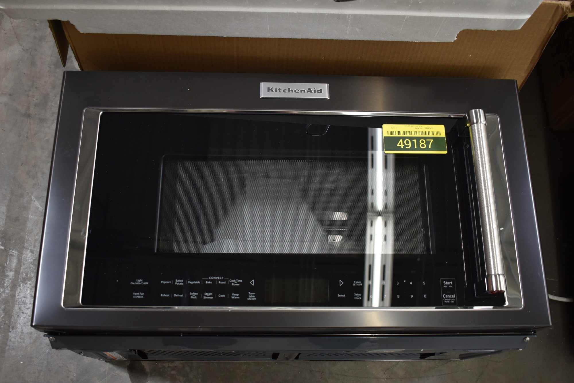 KitchenAid KMHC319EBS 30