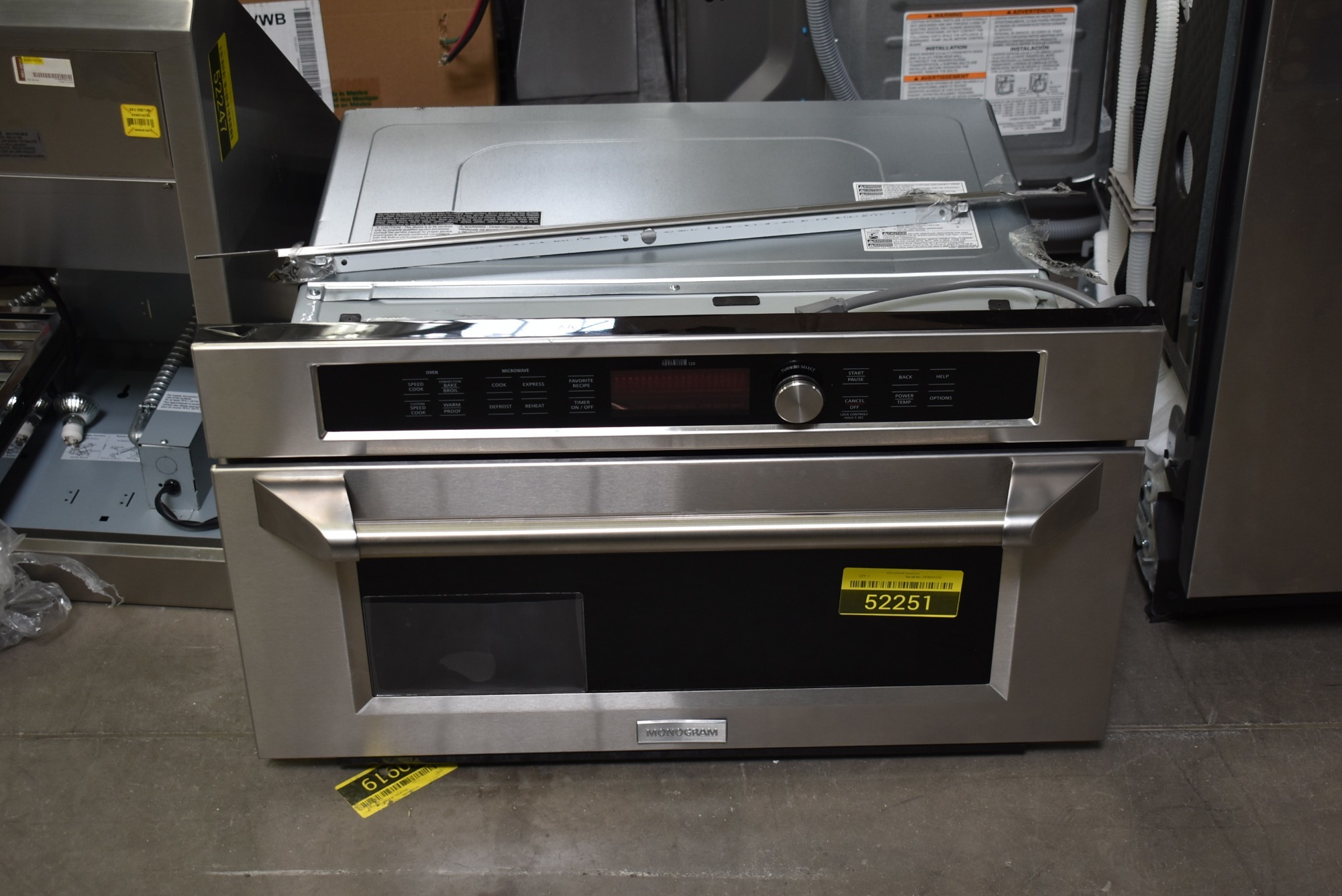 GE Monogram ZSC1202JSS 30