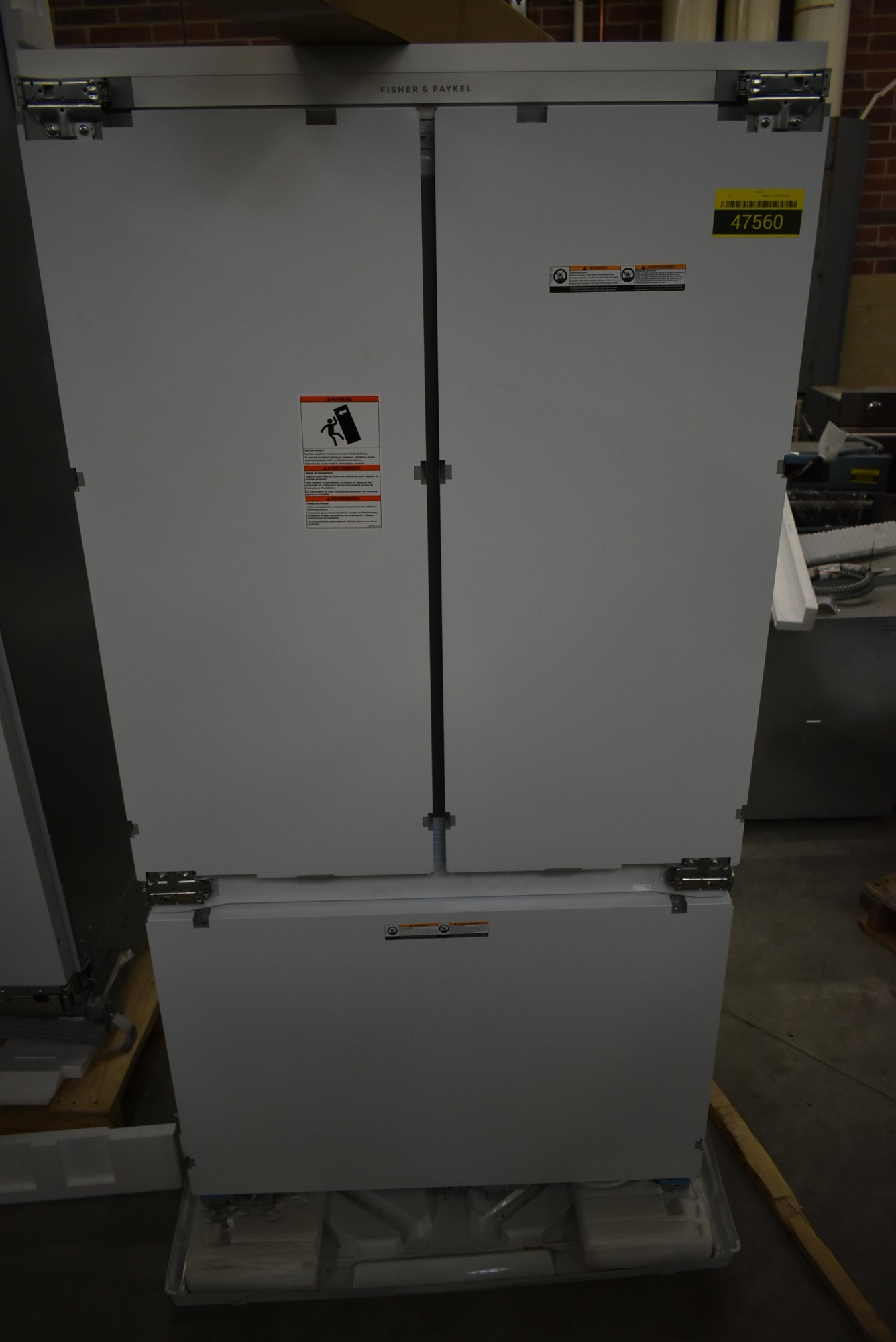 Fisher Paykel RS36A72J Cstm Panel 36